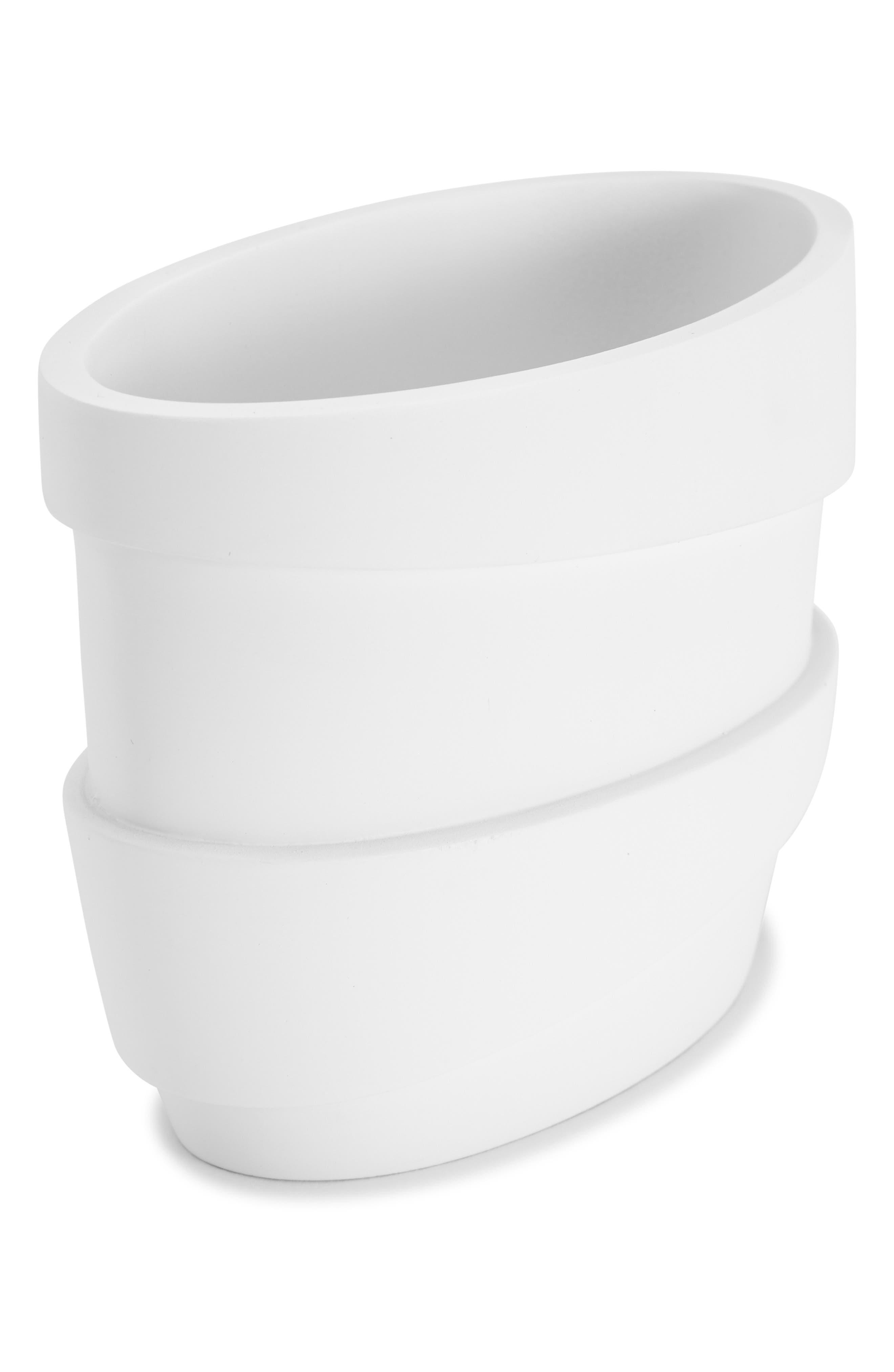 KASSATEX Alpine Toothbrush Holder, Main, color, WHITE
