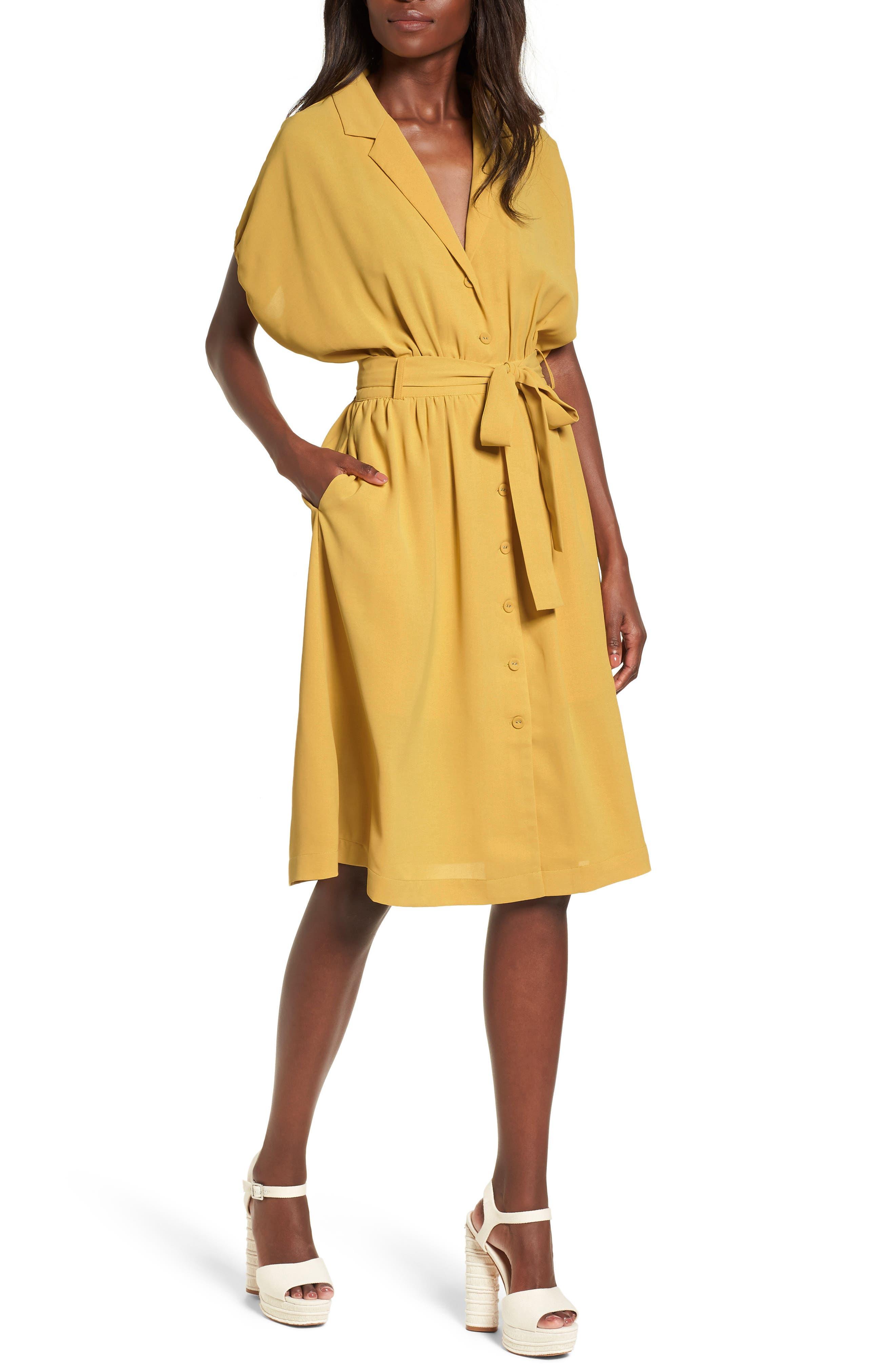 Chriselle x J.O.A. Cocoon Sleeve Dress,                             Main thumbnail 1, color,                             700