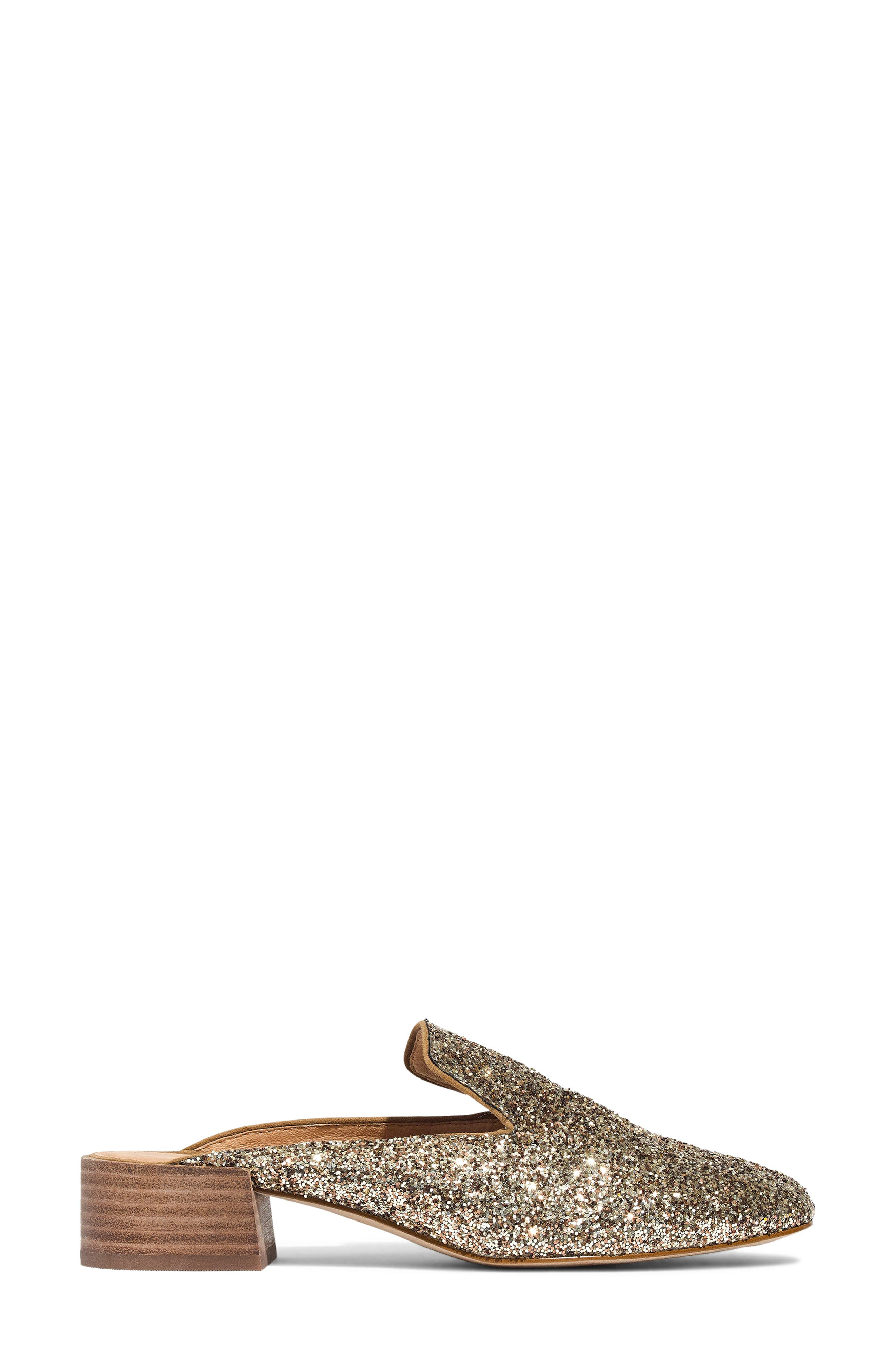 The Willa Loafer Mule,                             Alternate thumbnail 7, color,                             SMOKY GOLD