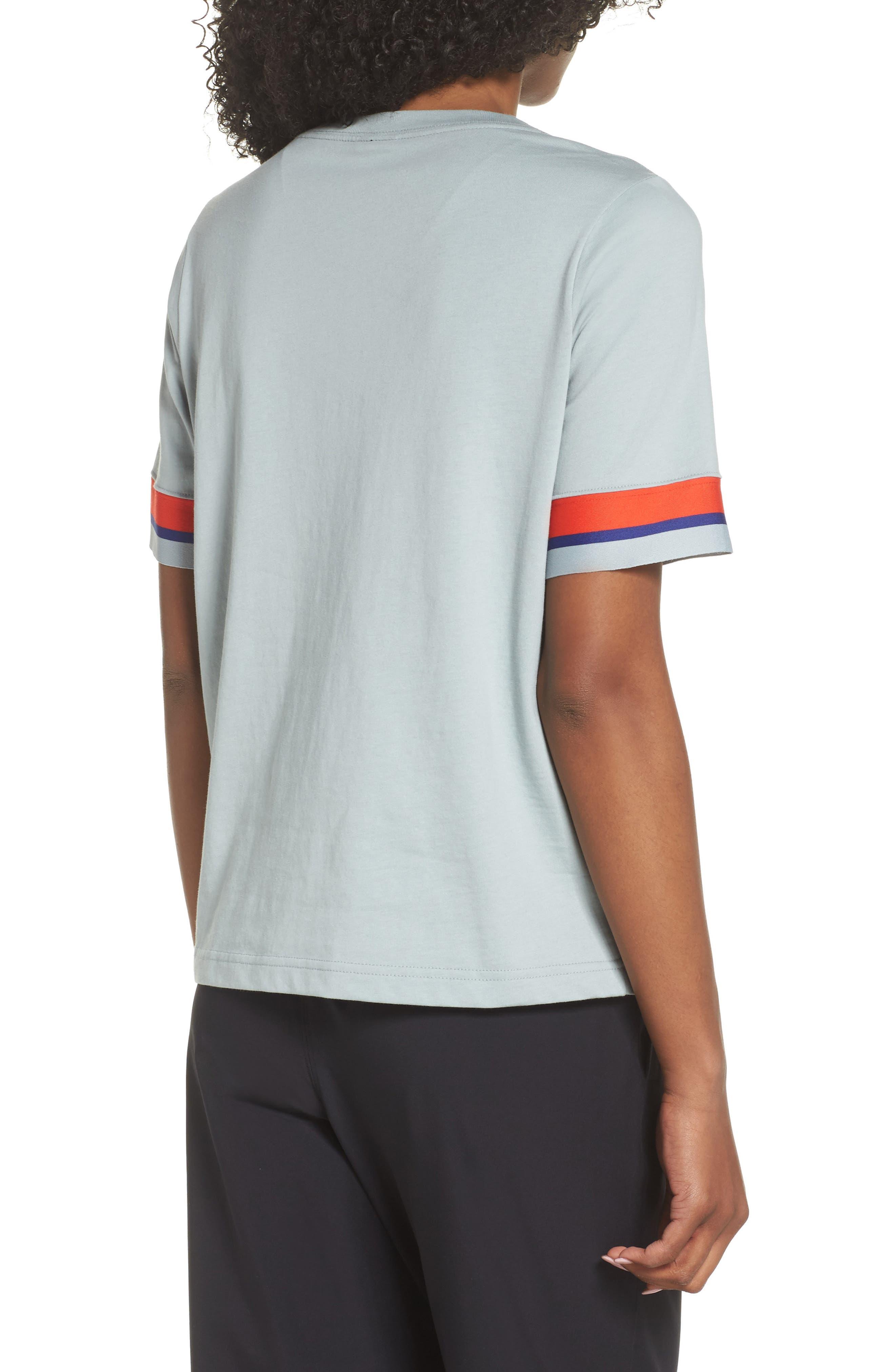 Sportswear Stripe Sleeve Tee,                             Alternate thumbnail 2, color,                             020