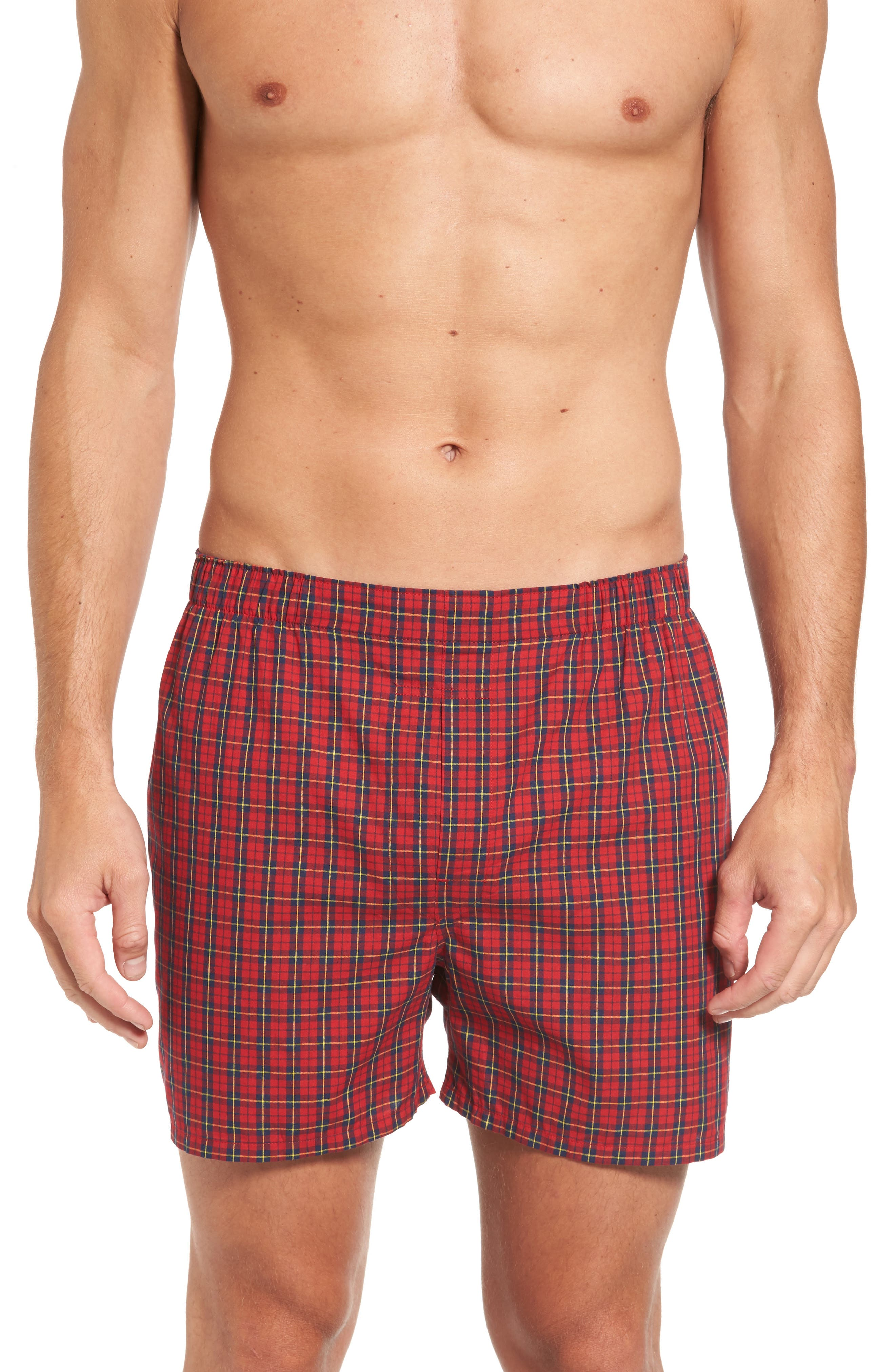 Assorted 3-Pack Woven Cotton Boxers,                             Alternate thumbnail 10, color,