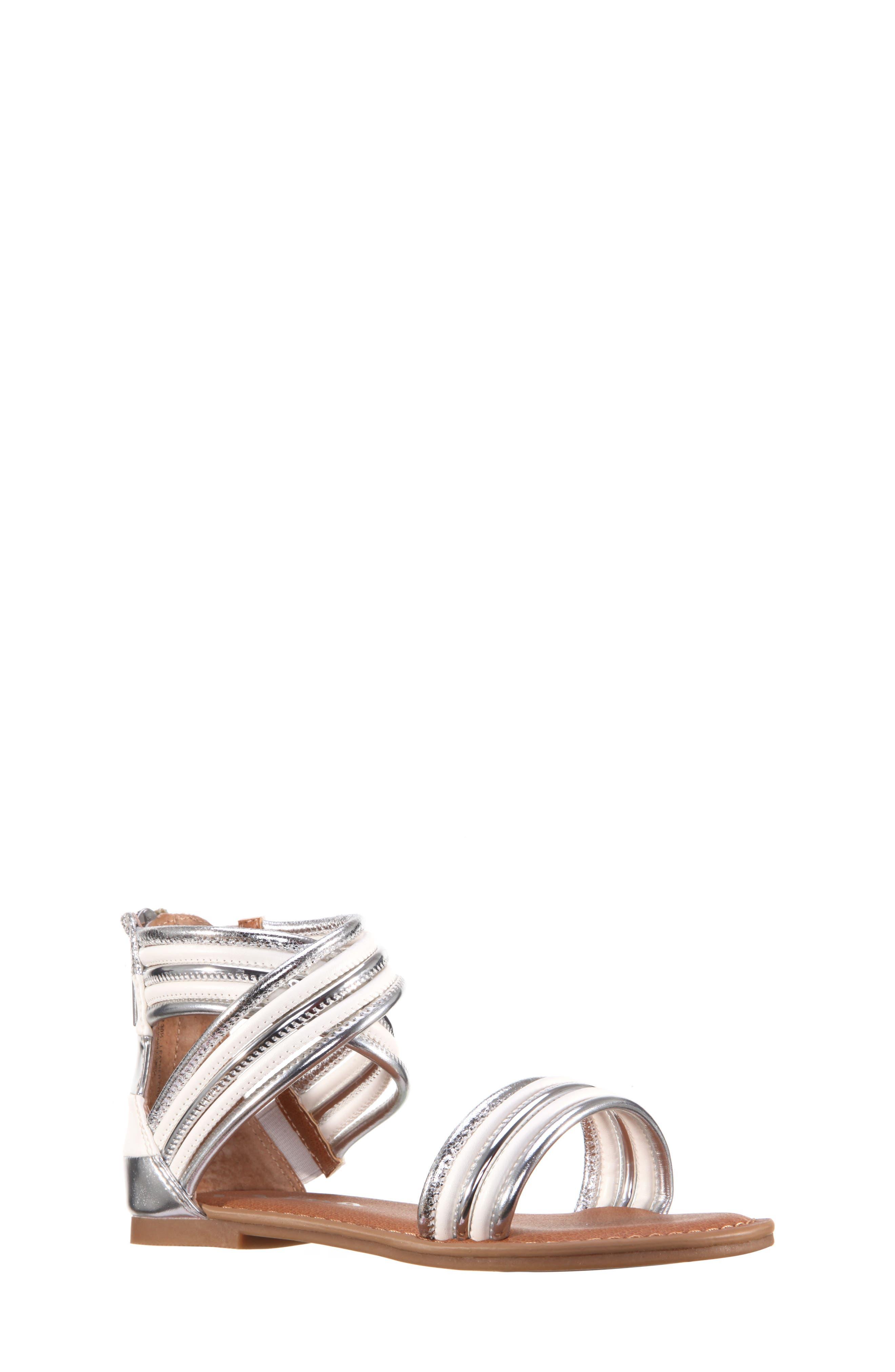 Roxsanne Multistrap Sandal,                             Main thumbnail 1, color,                             045