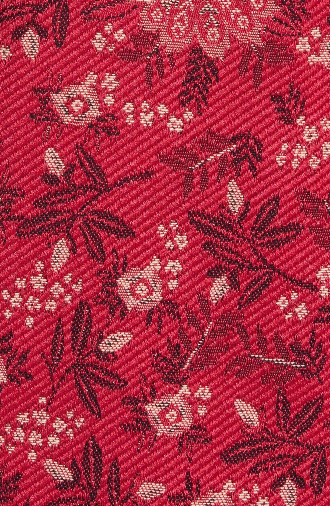 Marylou Floral Jacquard Sweatshirt,                             Alternate thumbnail 5, color,                             650
