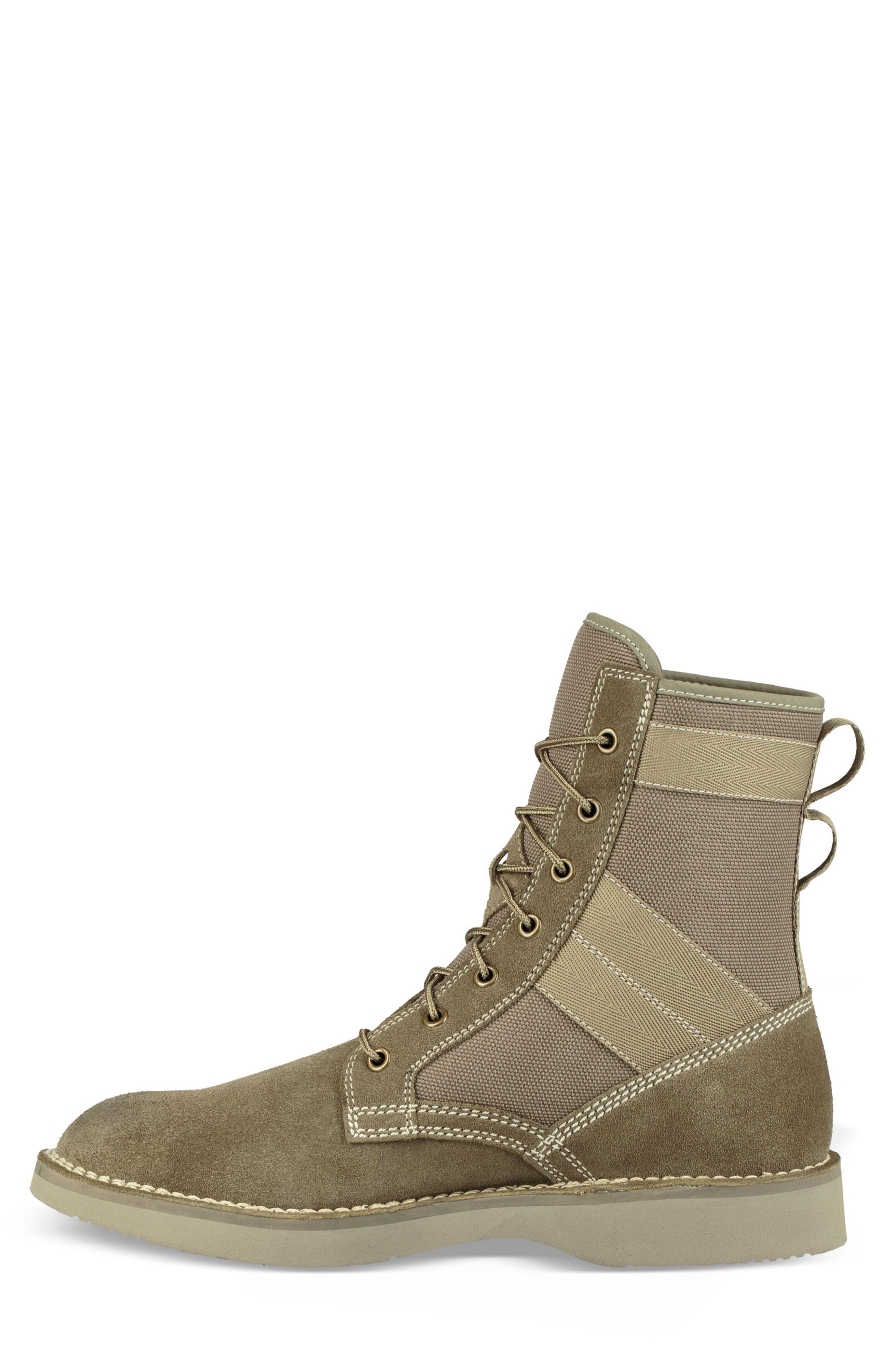 Camino Plain Toe Boot,                             Alternate thumbnail 3, color,                             TAUPE