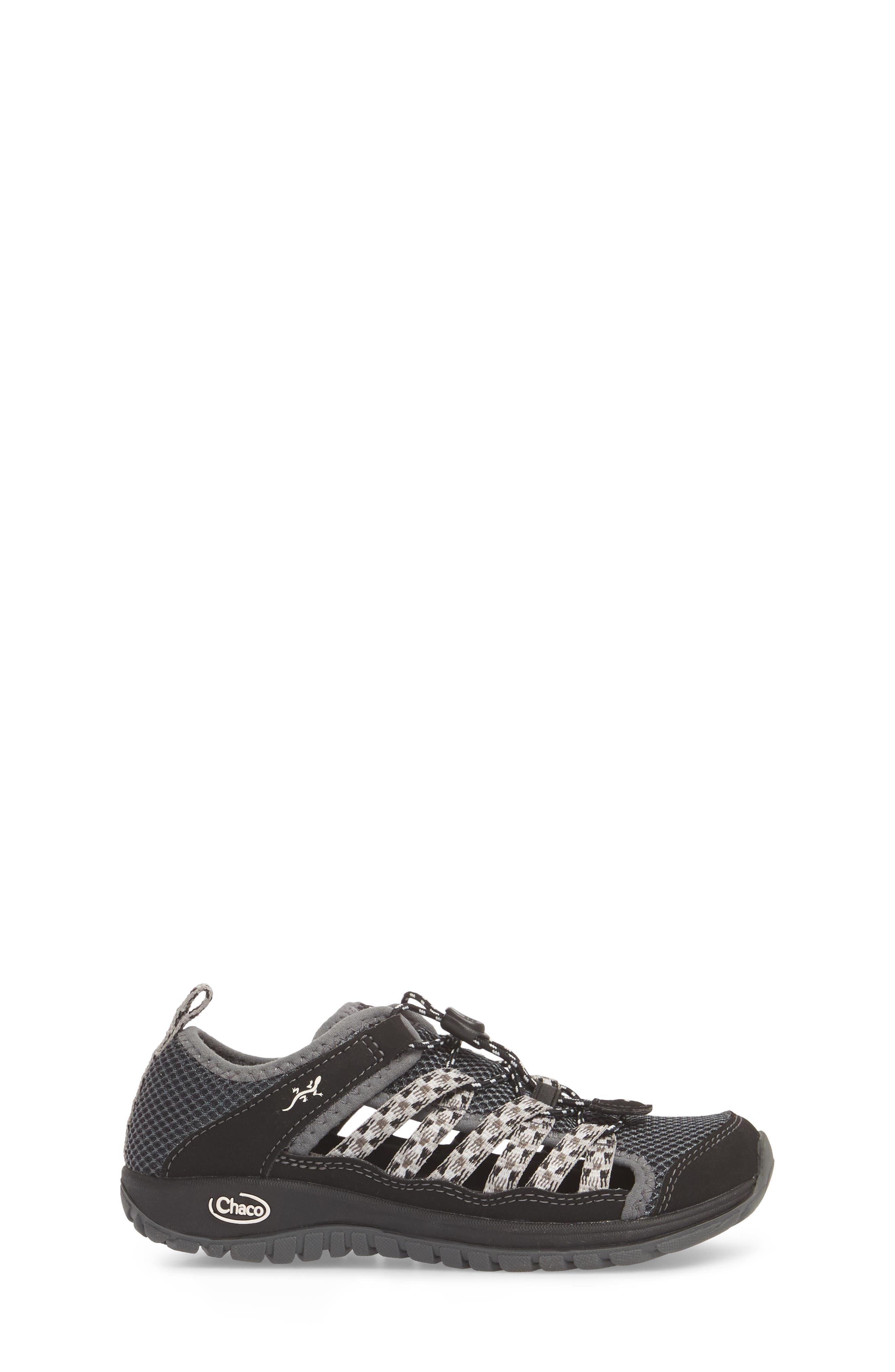 Outcross 2 Water Sneaker,                             Alternate thumbnail 3, color,                             BLACK