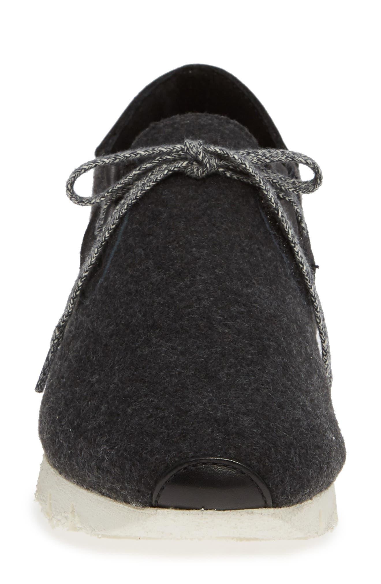 Radius Sneaker,                             Alternate thumbnail 4, color,                             CHARCOAL