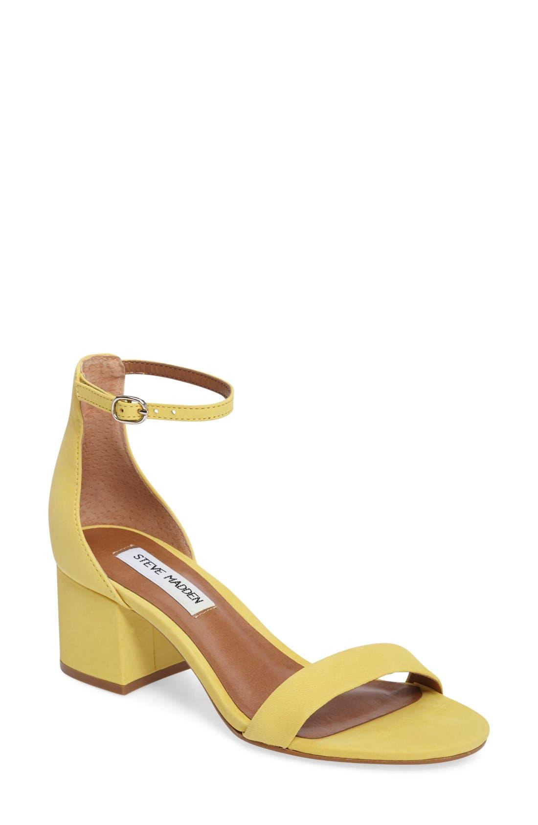 Irenee Ankle Strap Sandal,                             Main thumbnail 28, color,