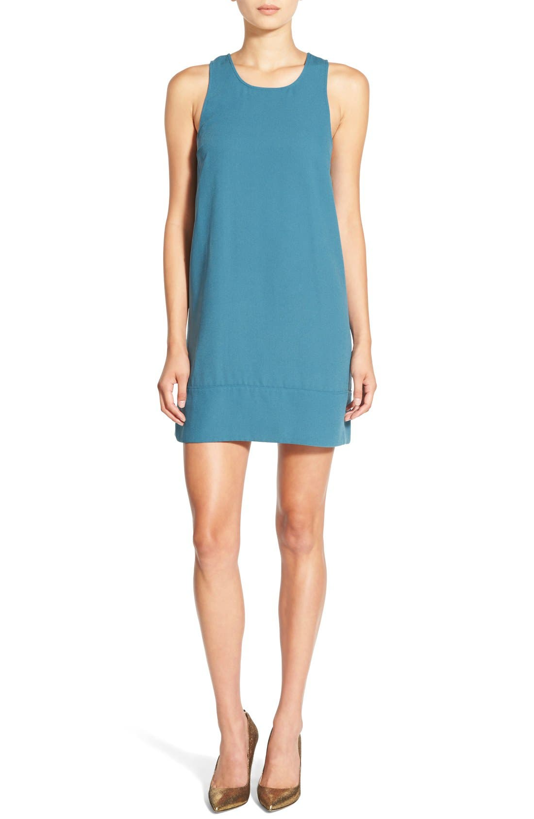 Racerback Shift Dress,                             Main thumbnail 30, color,