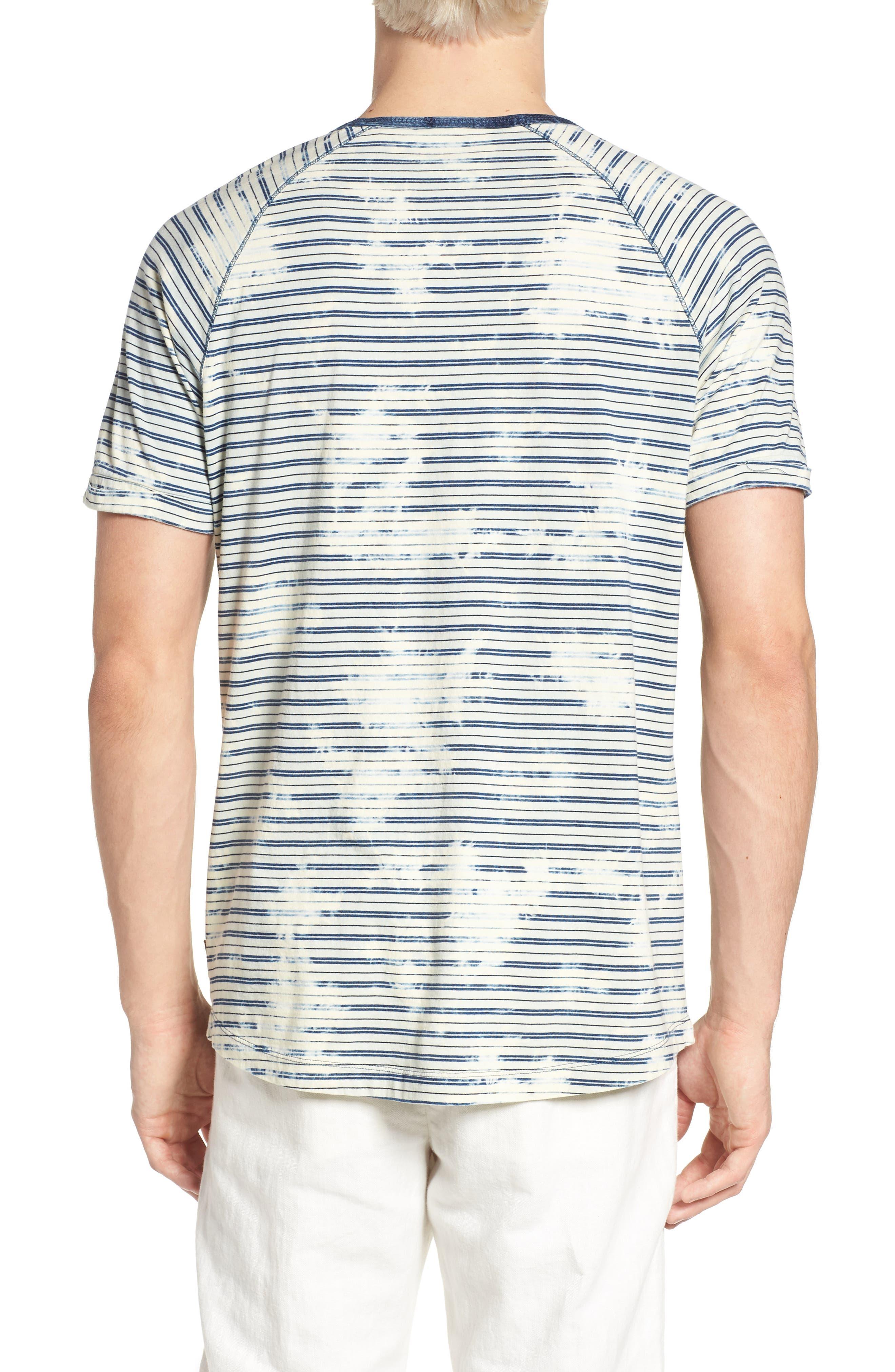 Washed Crewneck T-Shirt,                             Alternate thumbnail 2, color,                             400