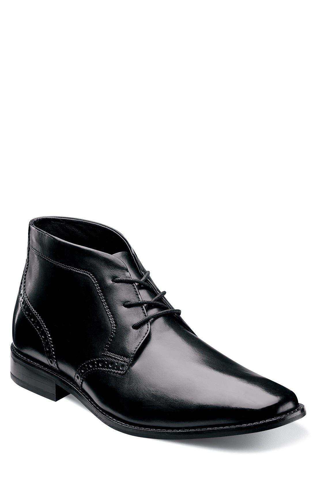 'Castellano' Chukka Boot,                             Main thumbnail 1, color,                             001
