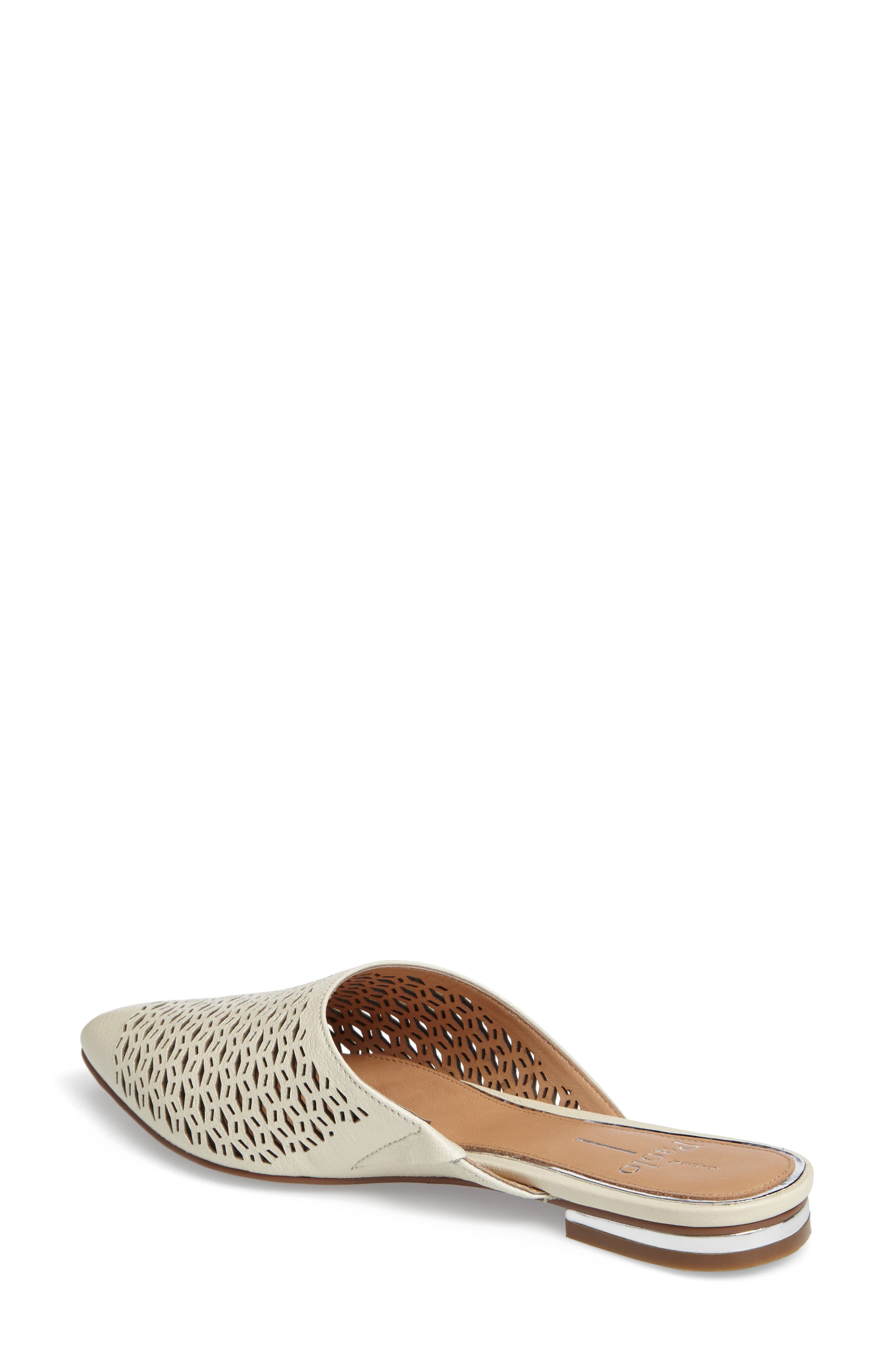 Daisy Perforated Mule,                             Alternate thumbnail 7, color,