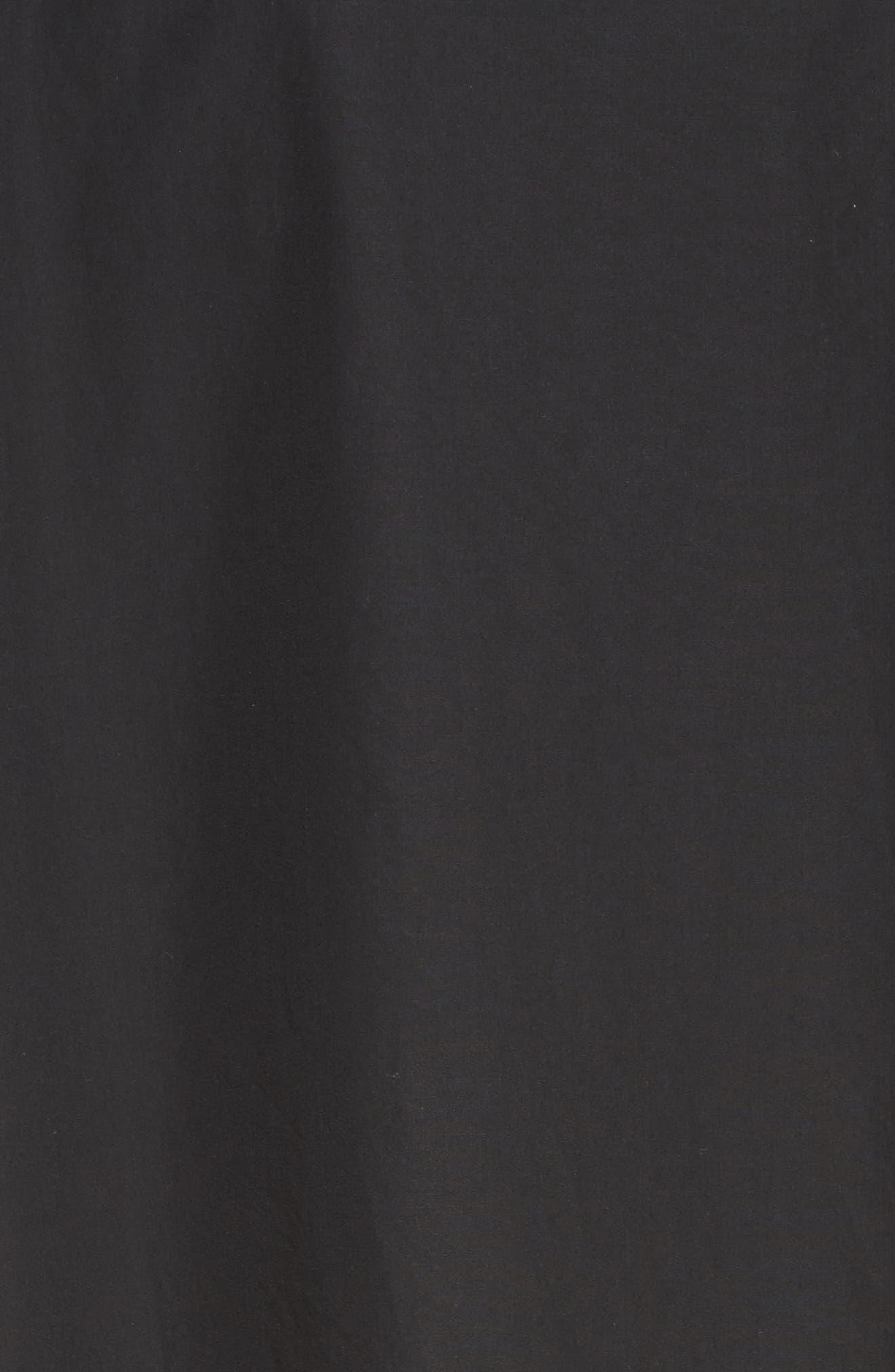 Bow Cold Shoulder Dress,                             Alternate thumbnail 5, color,                             001