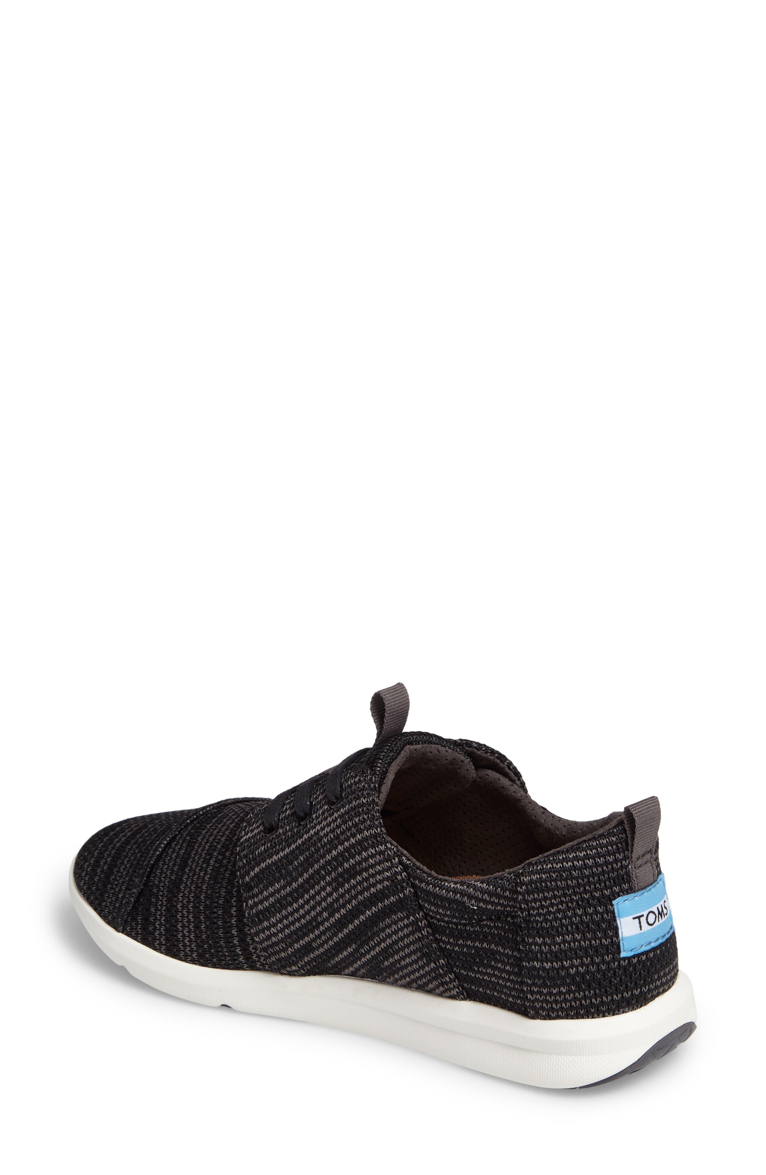TOMS,                             'Del Ray' Sneaker,                             Alternate thumbnail 2, color,                             001