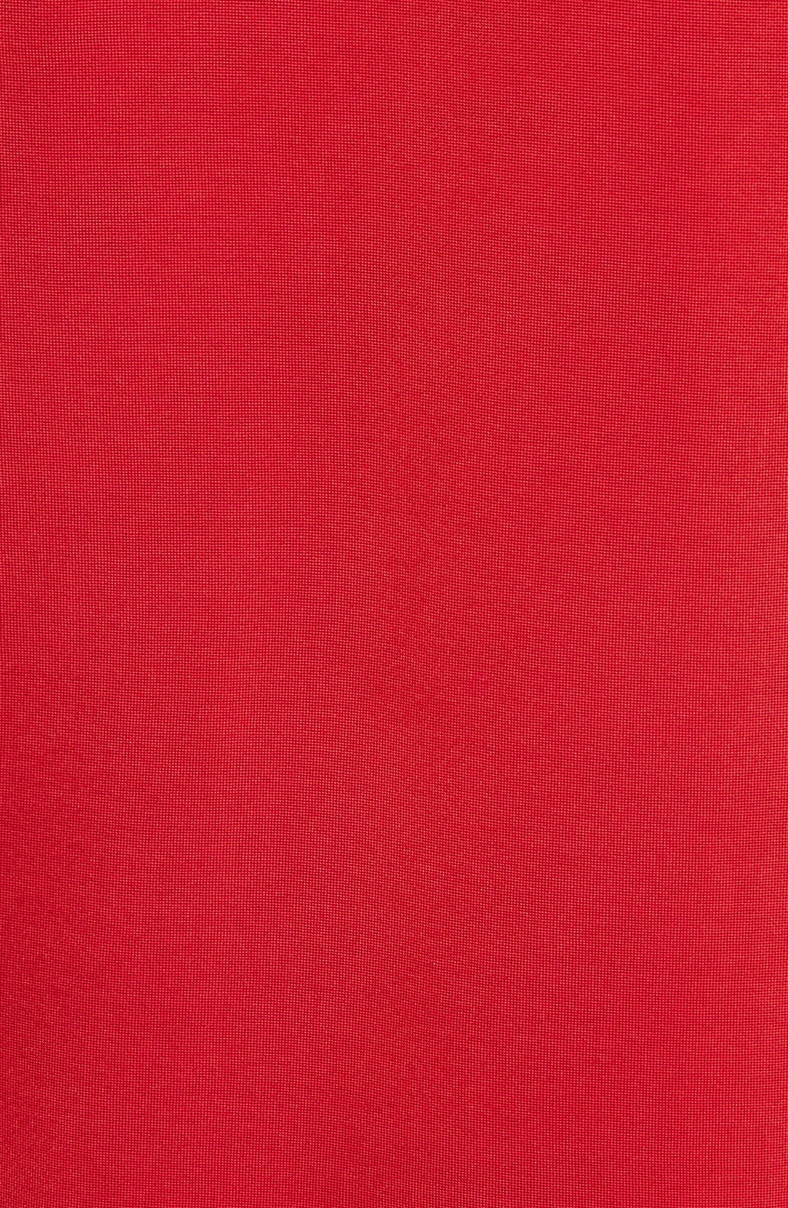 Sporty Asymmetrical Jersey Dress,                             Alternate thumbnail 5, color,                             600