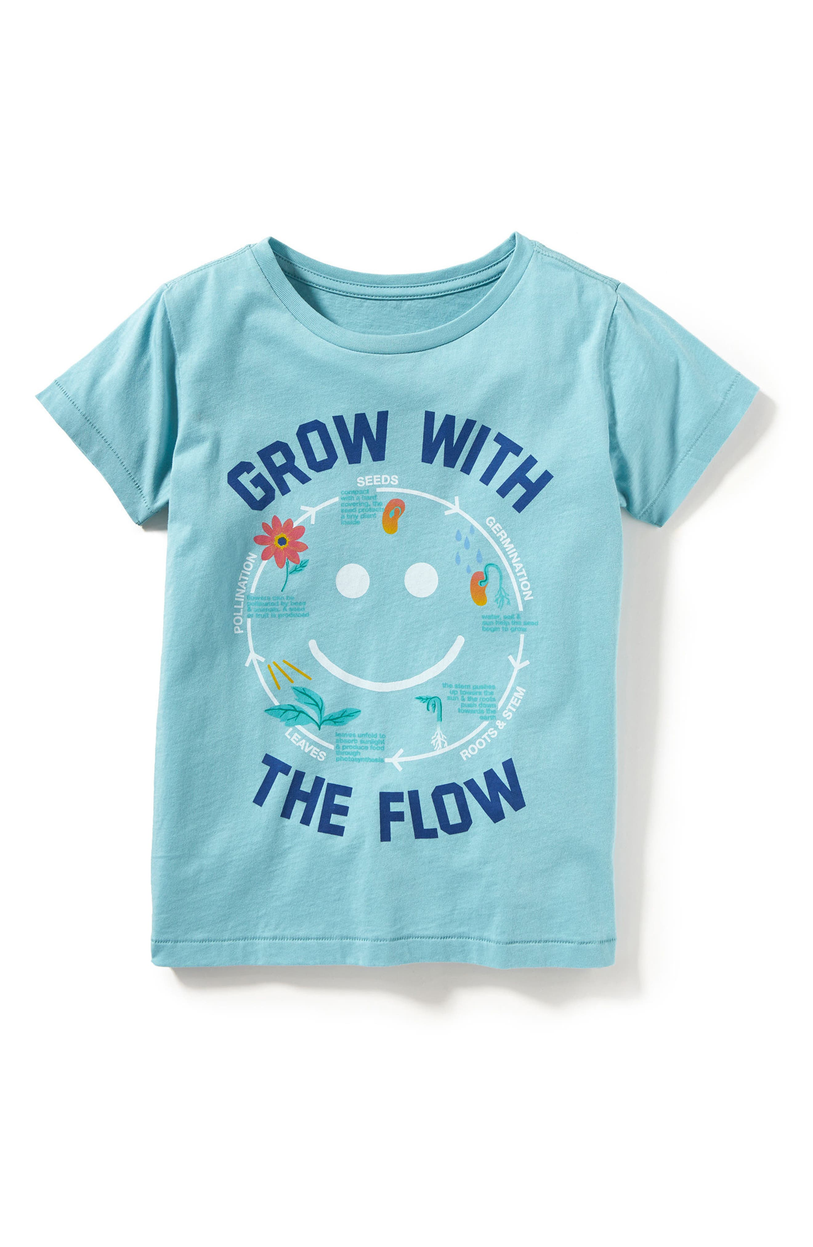 Grow with the Flow Graphic Tee,                             Alternate thumbnail 3, color,