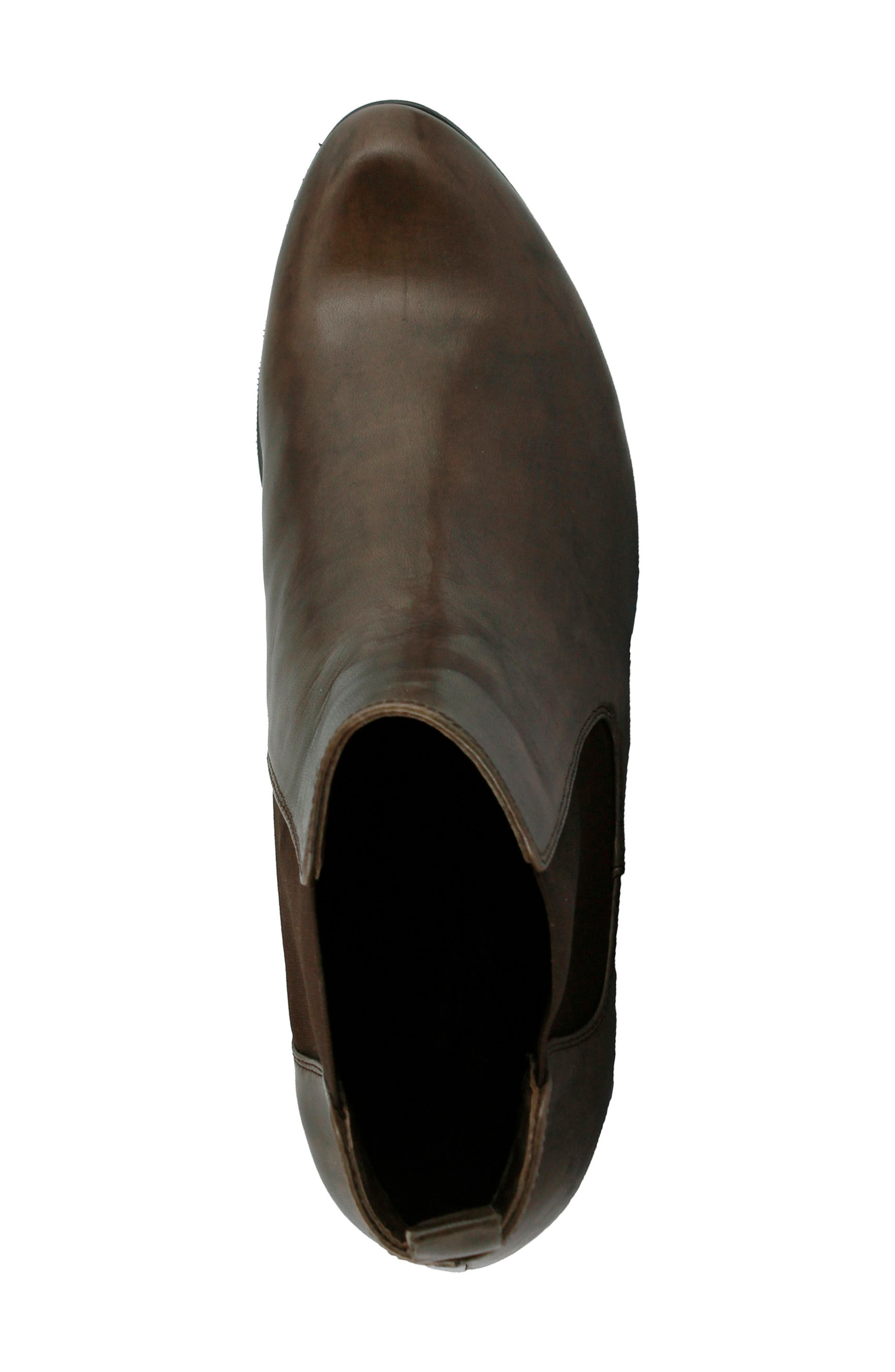 Lithium Chelsea Boot,                             Alternate thumbnail 4, color,                             TAUPE LEATHER