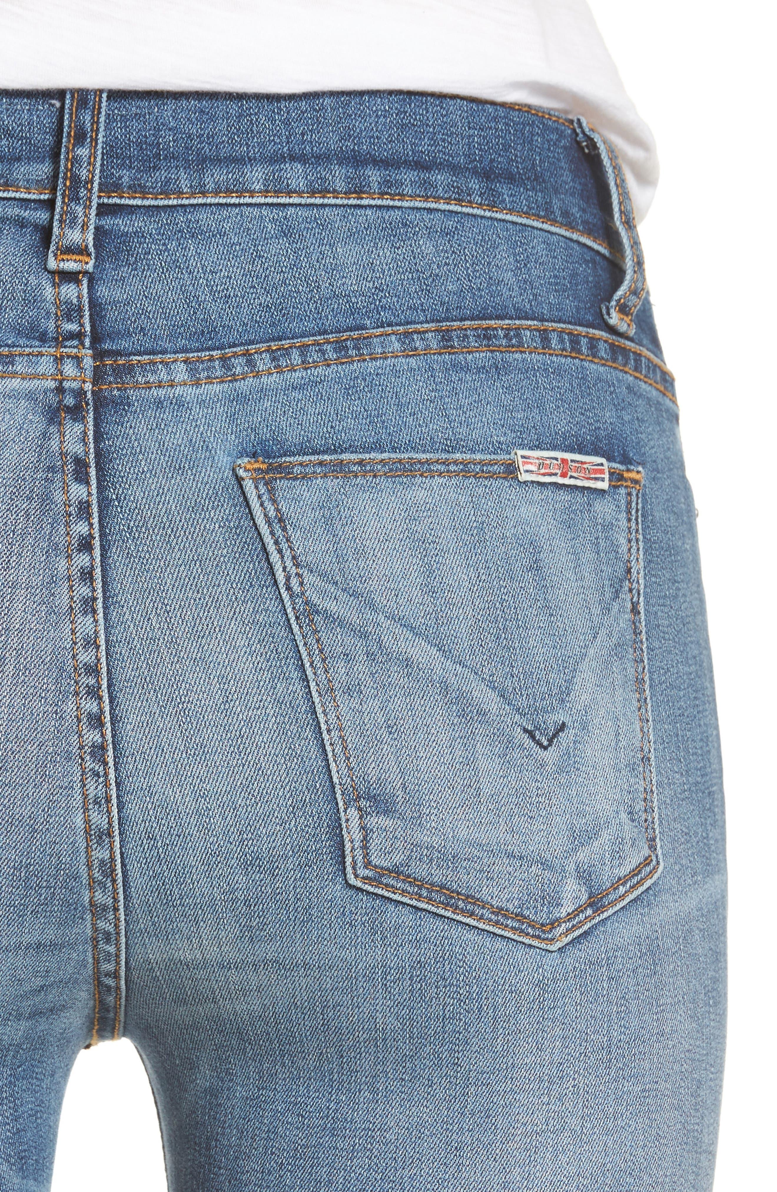 Ciara High Waist Skinny Jeans,                             Alternate thumbnail 7, color,