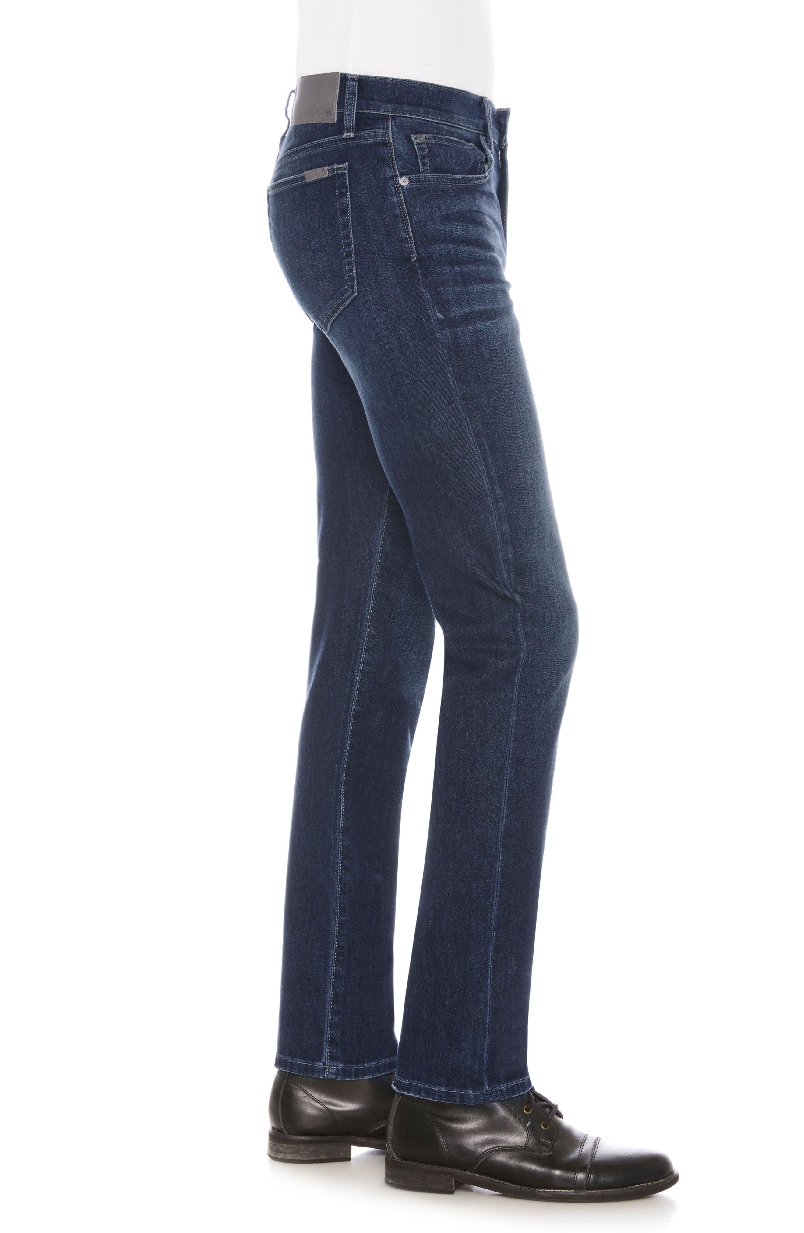 Brixton Slim Straight Leg Jeans,                             Alternate thumbnail 3, color,                             SANDERS