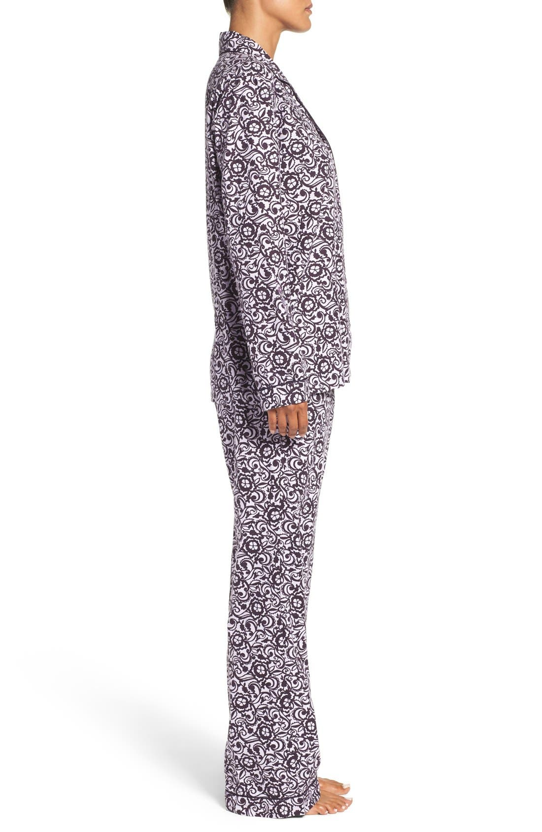 Cotton Twill Pajamas,                             Alternate thumbnail 19, color,