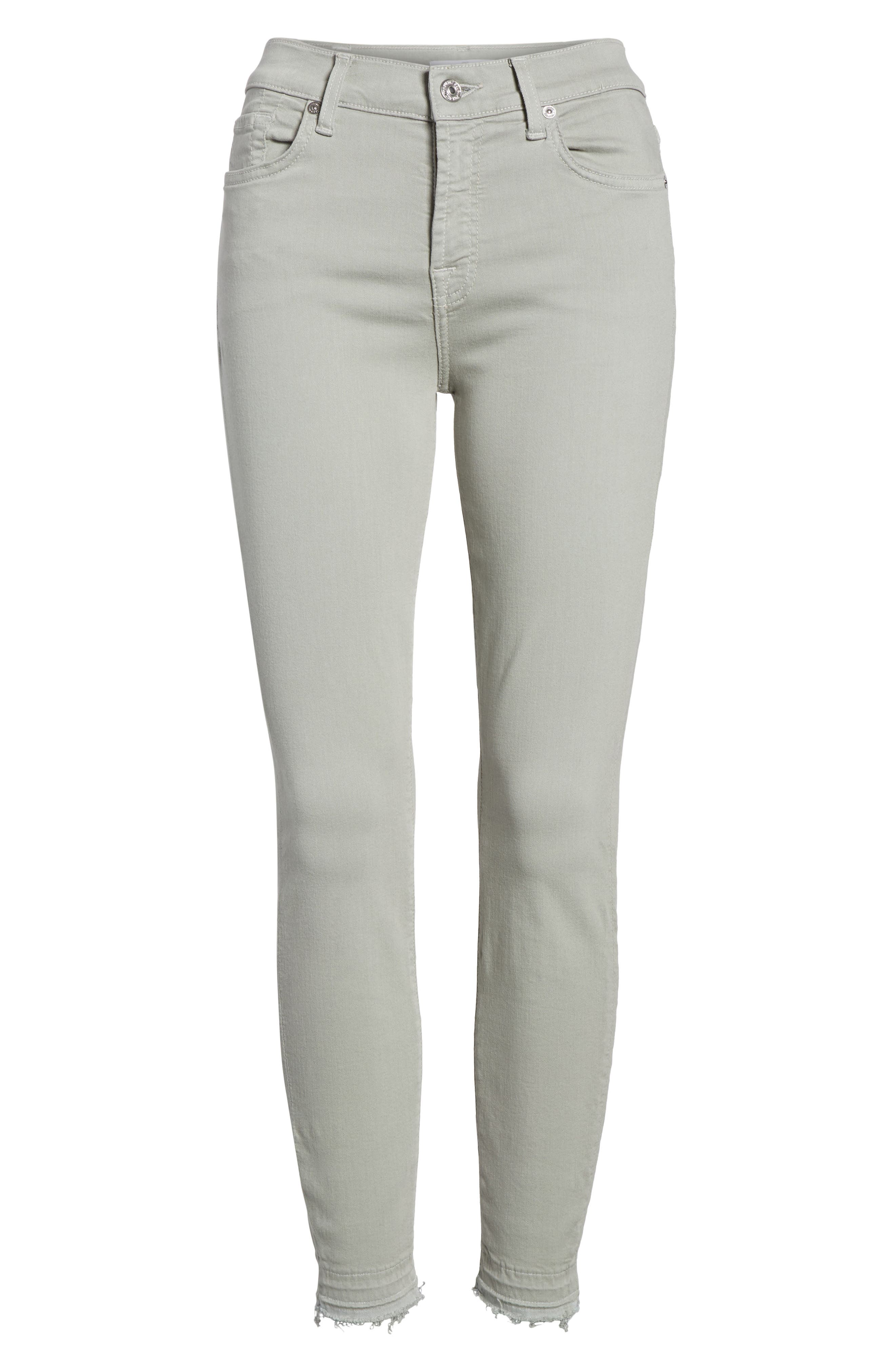 Released Hem Ankle Skinny Jeans,                             Alternate thumbnail 7, color,                             022
