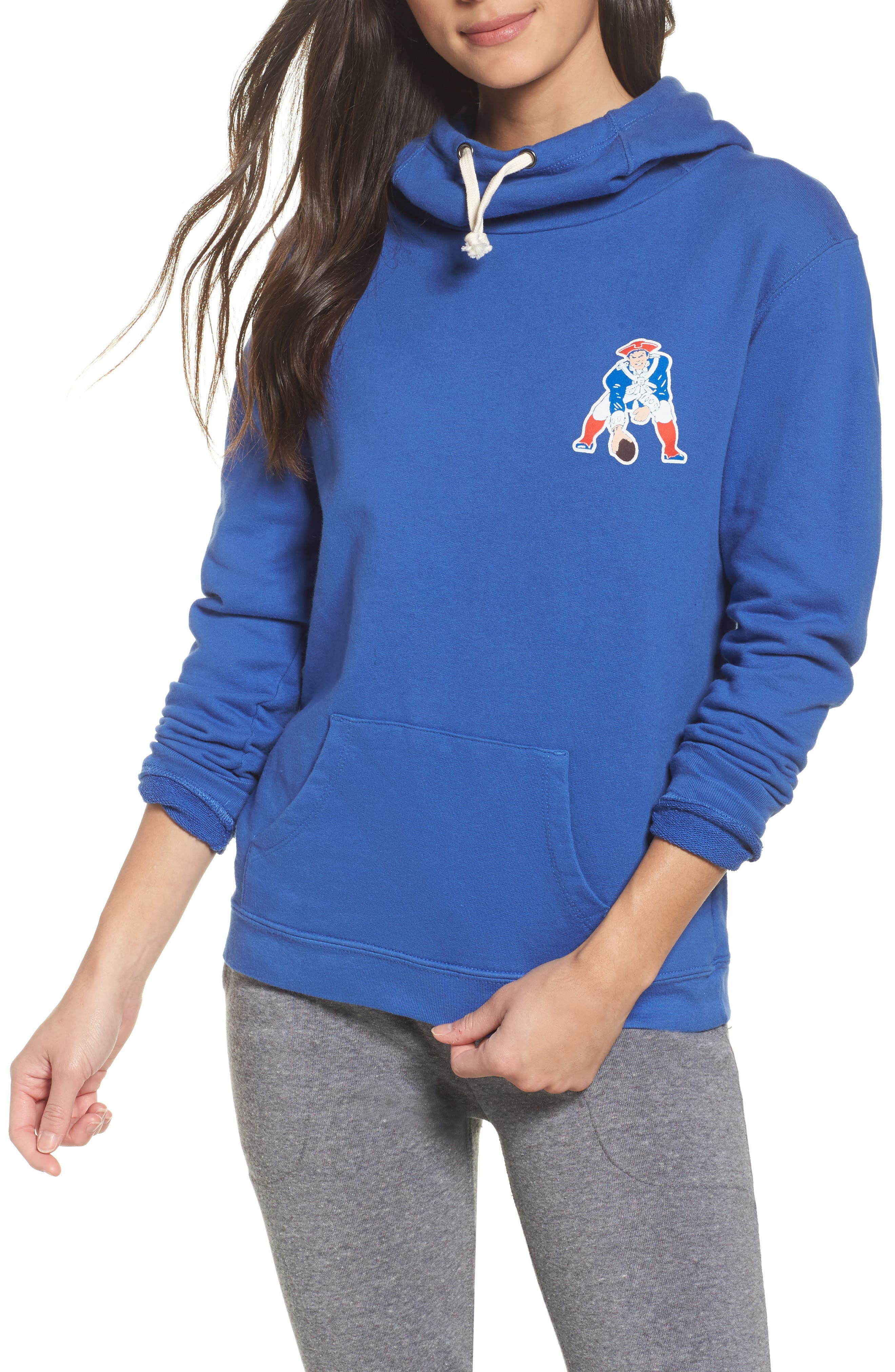 NFL New England Patriots Sunday Hoodie,                             Main thumbnail 1, color,                             497