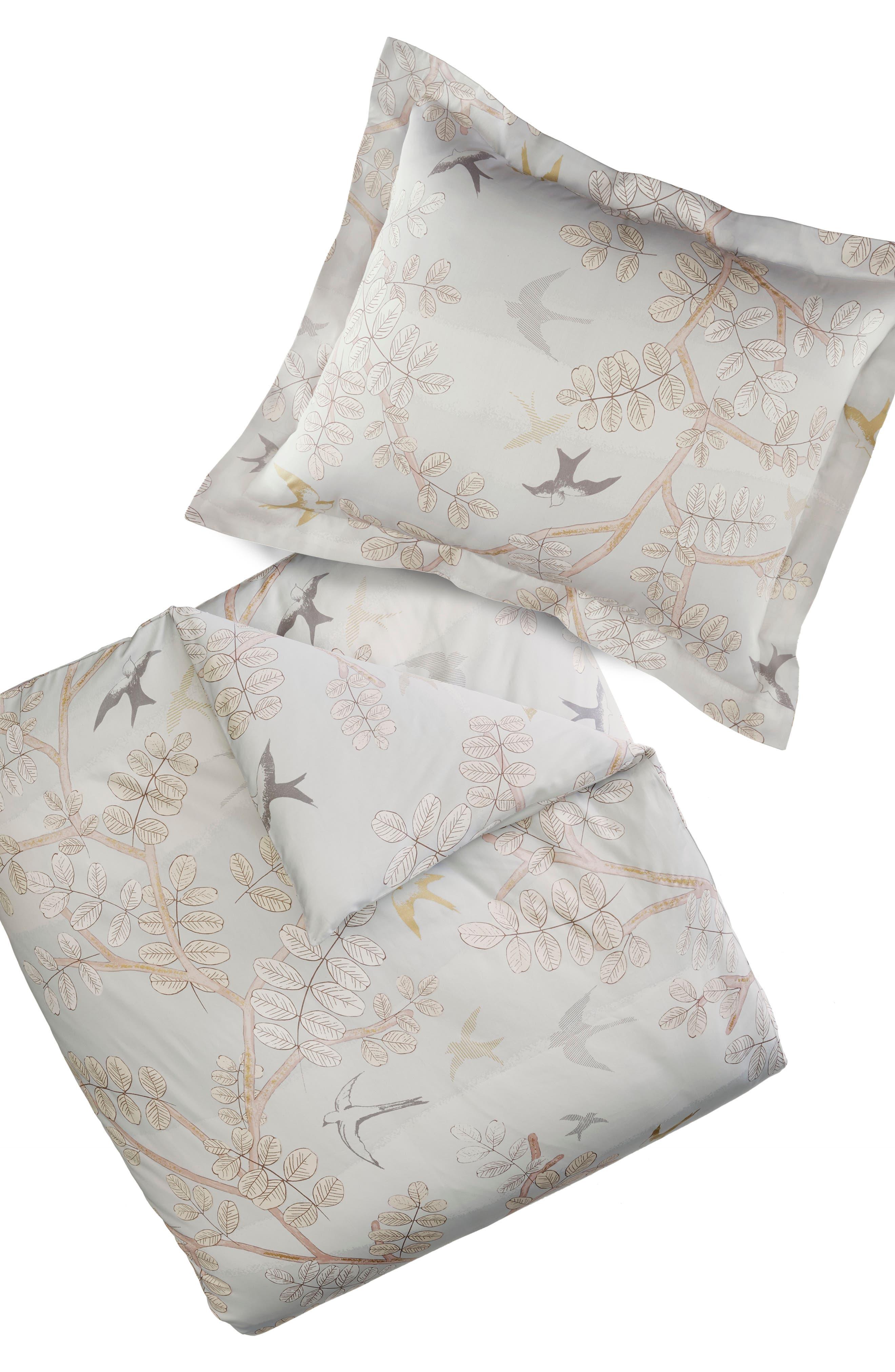 Margot 300 Thread Count Pair of Pillow Shams,                             Alternate thumbnail 2, color,                             050