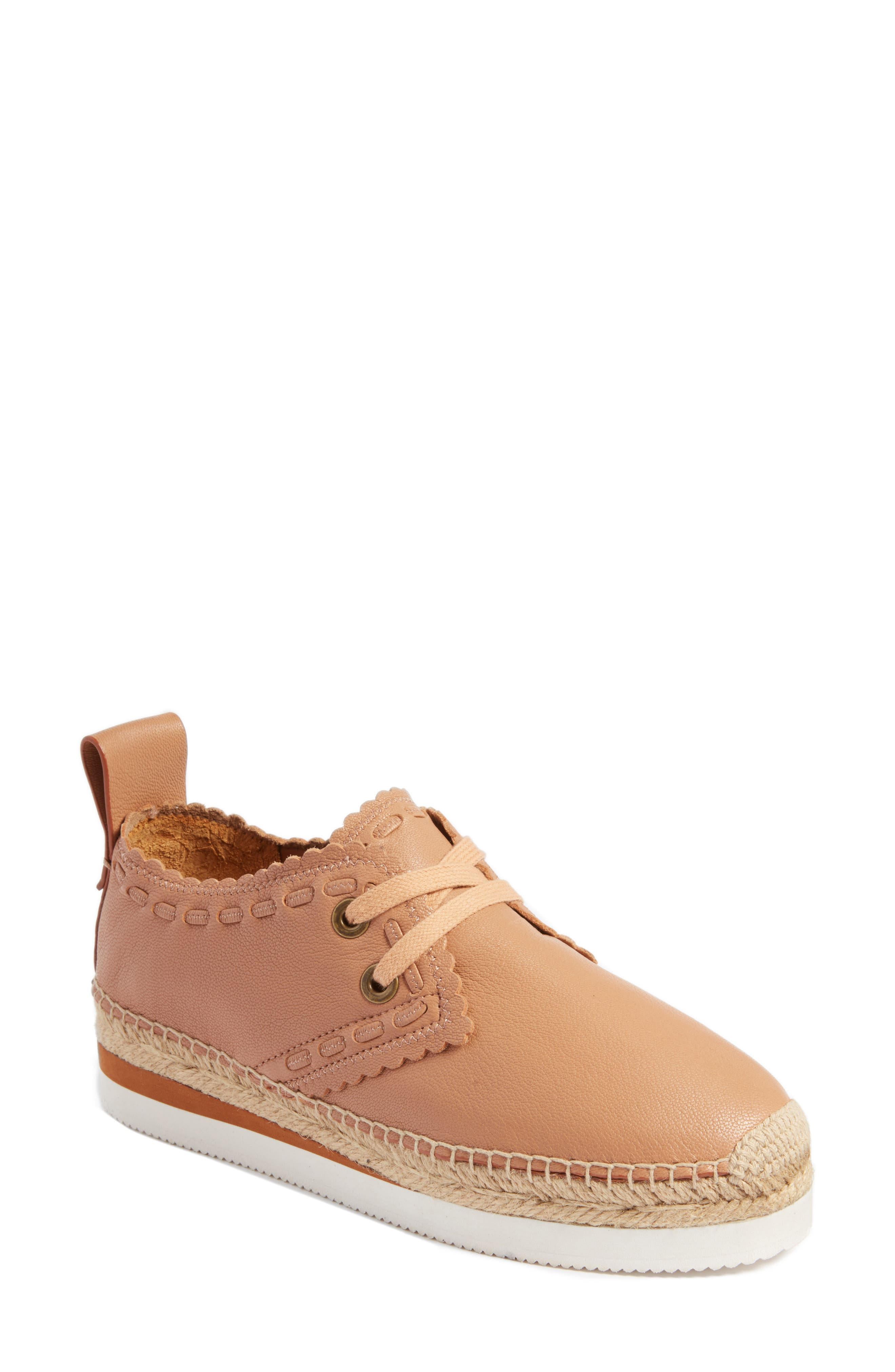 Glyn Espadrille,                             Main thumbnail 1, color,                             TOFFEE