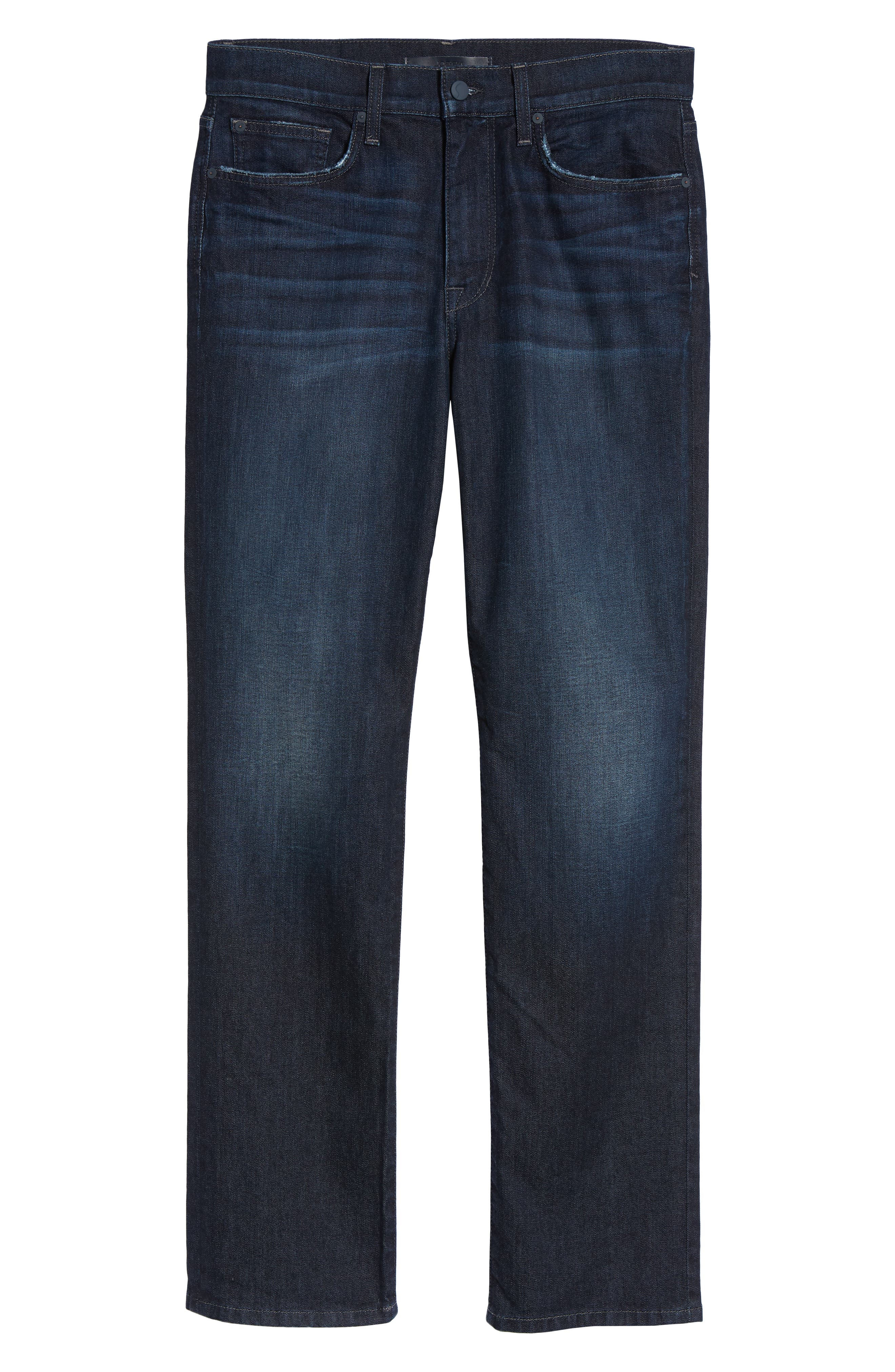 Classic Straight Fit Jeans,                             Alternate thumbnail 6, color,                             LUCAN