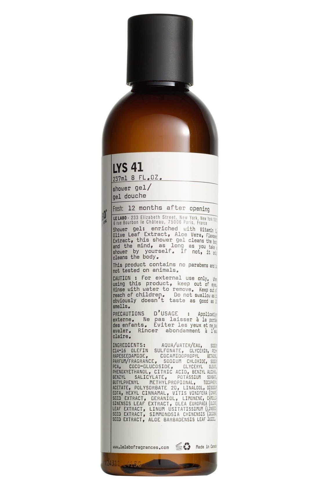 'Lys 41' Shower Gel,                             Main thumbnail 1, color,                             NO COLOR
