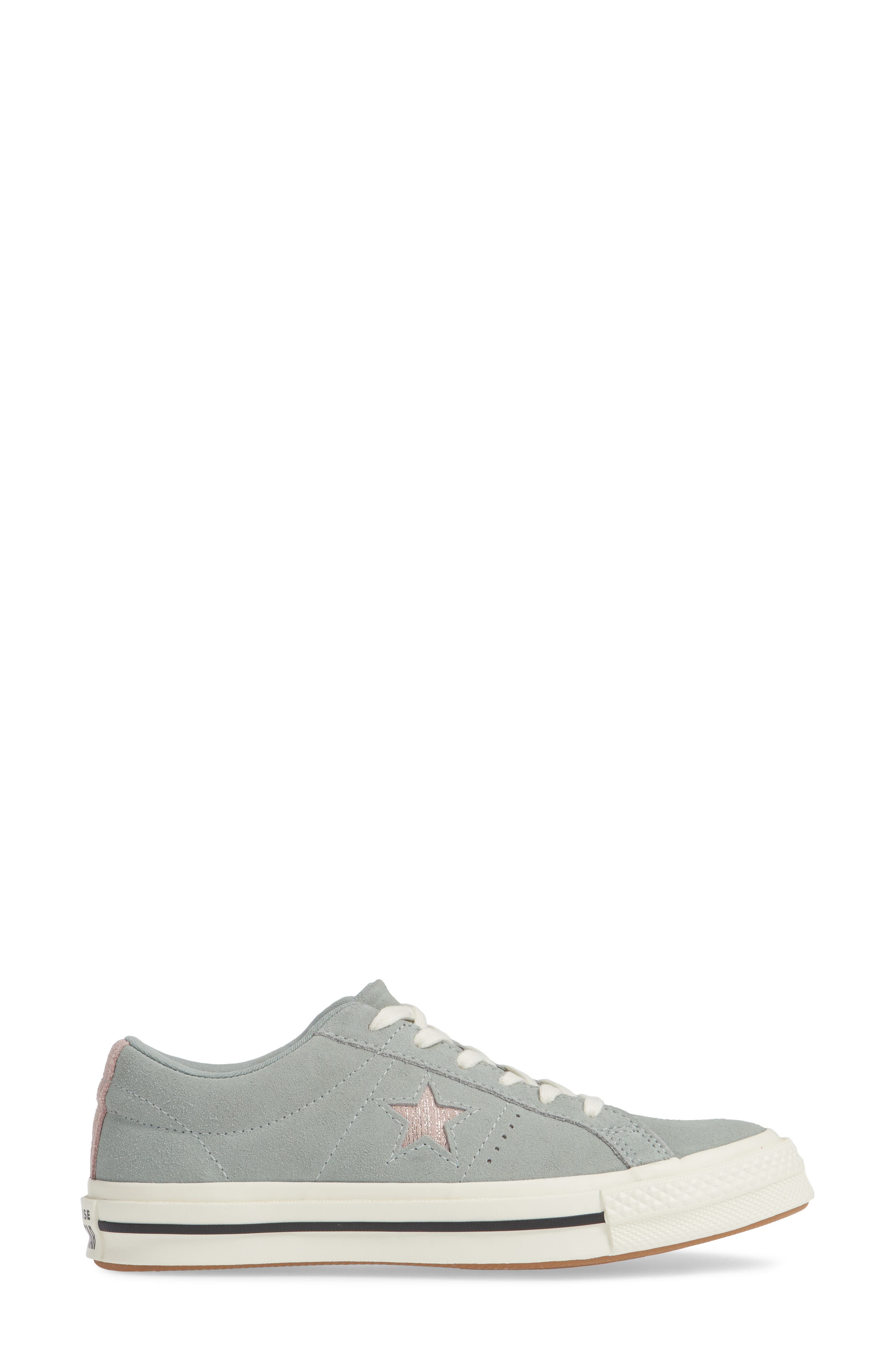 One Star Suede Low Top Sneaker,                             Alternate thumbnail 11, color,