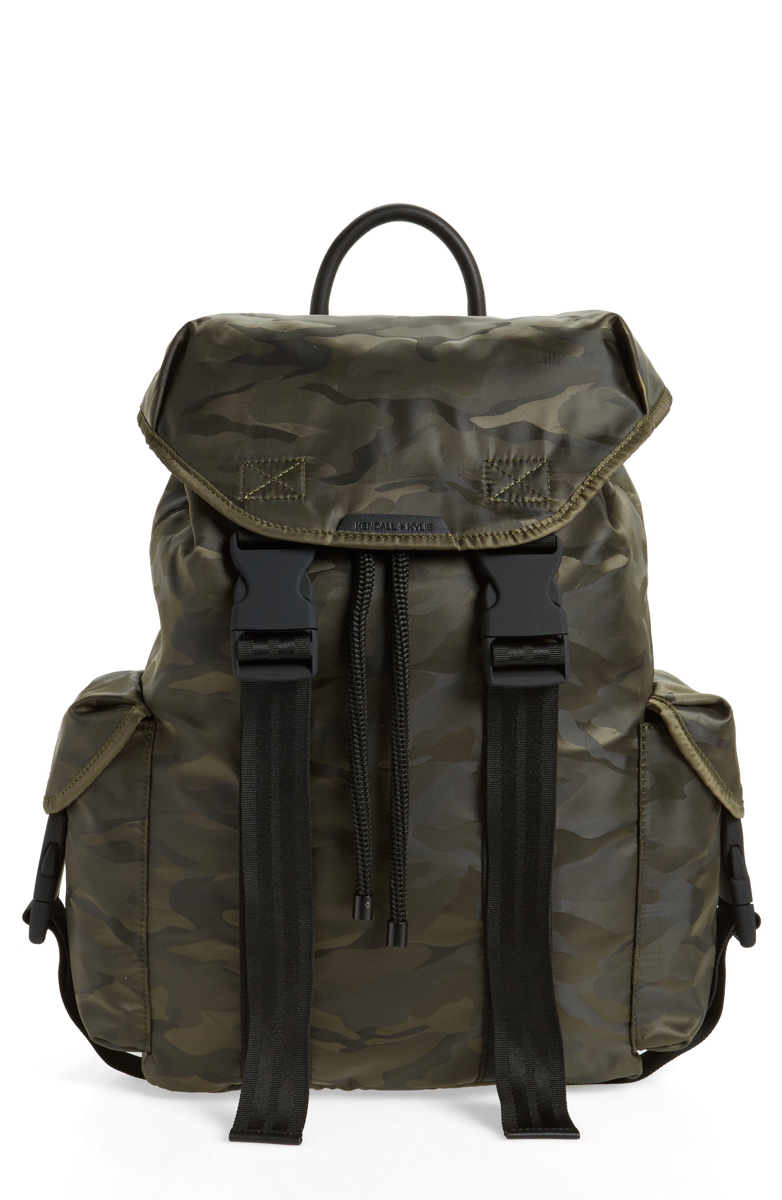 Jordyn Nylon Backpack,                             Main thumbnail 2, color,
