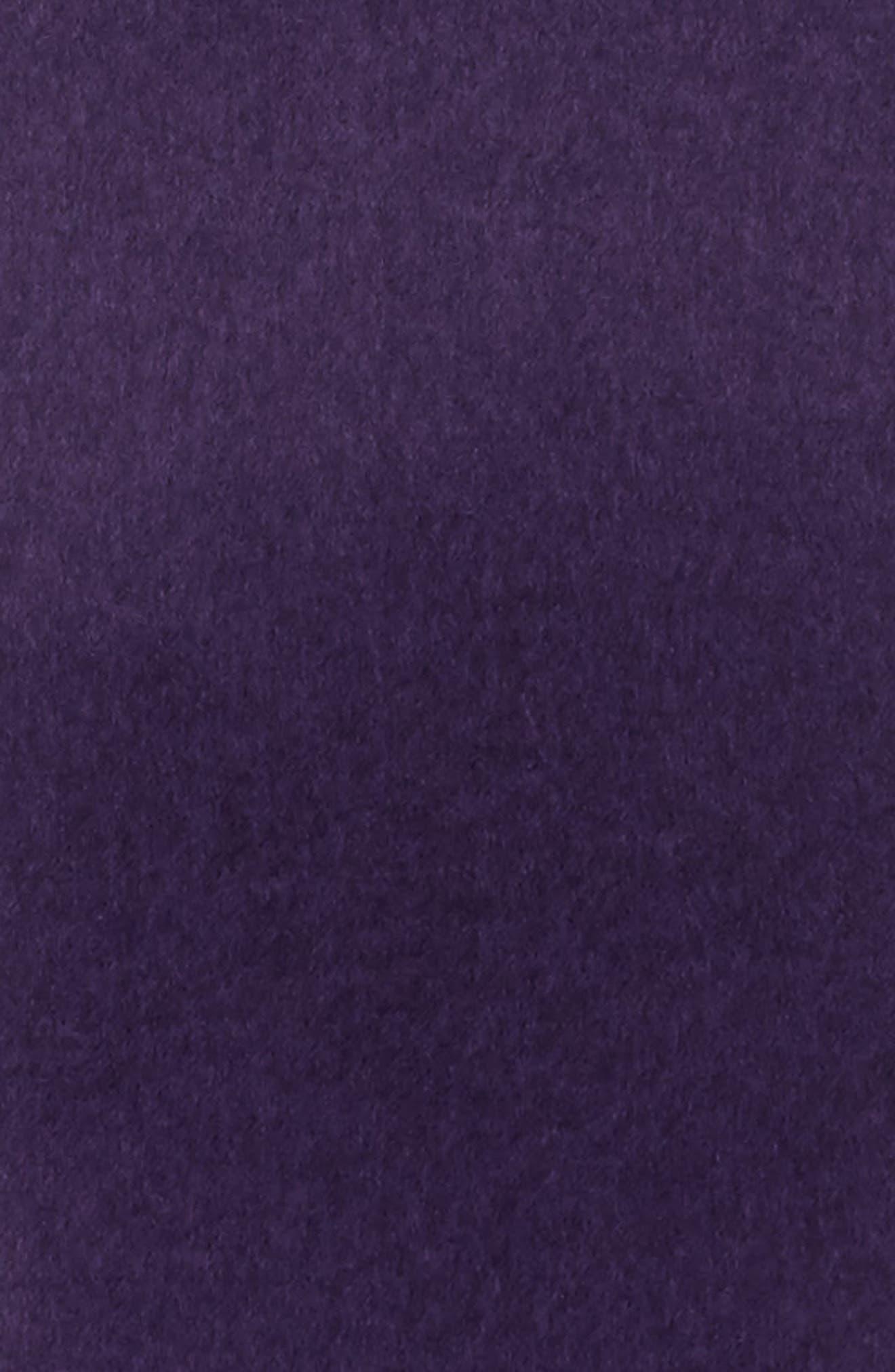 Guccy Sequin Silk & Cashmere Scarf,                             Alternate thumbnail 4, color,                             PARMA VIOLET