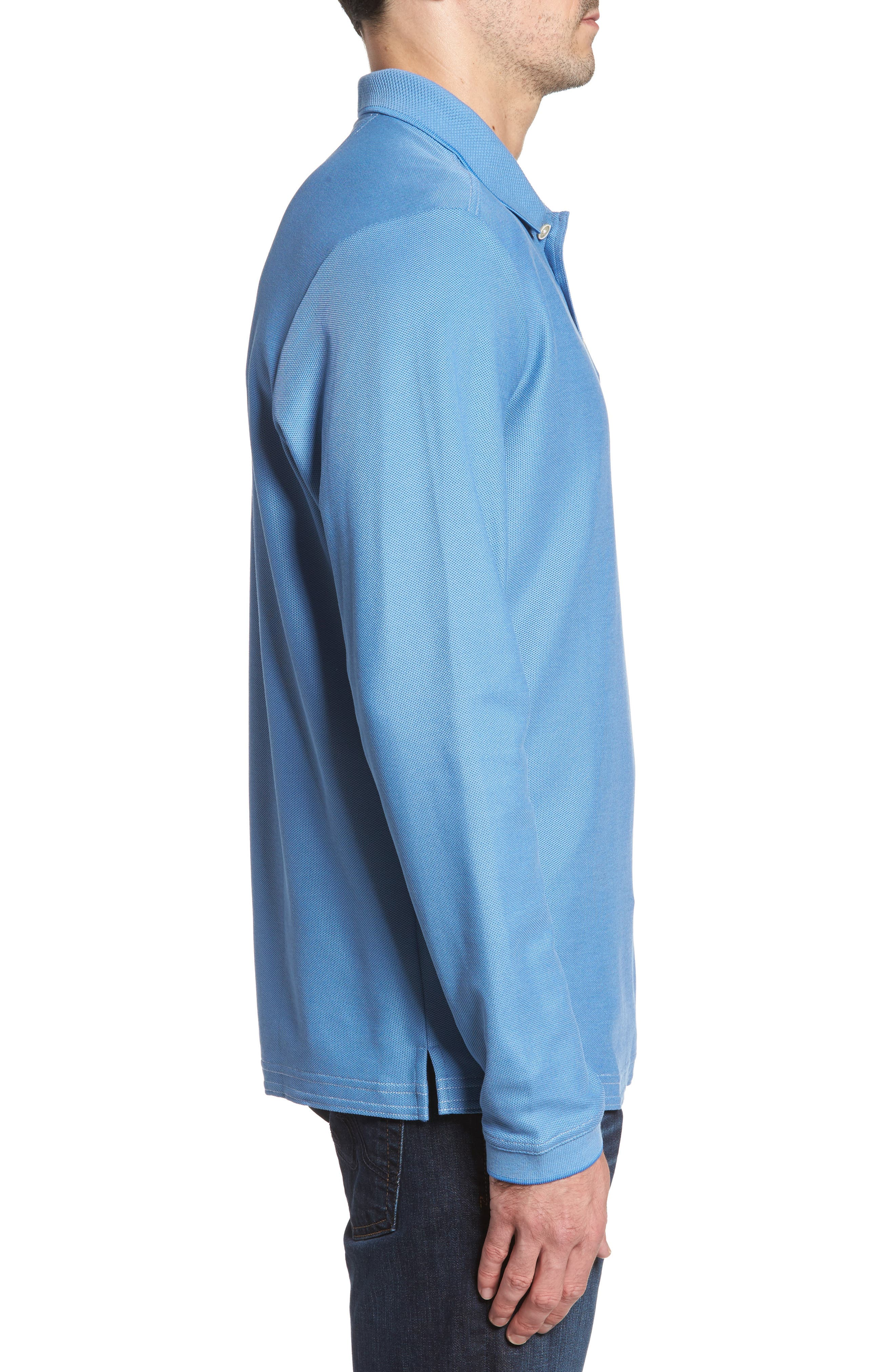 Emfielder Long Sleeve Polo,                             Alternate thumbnail 28, color,