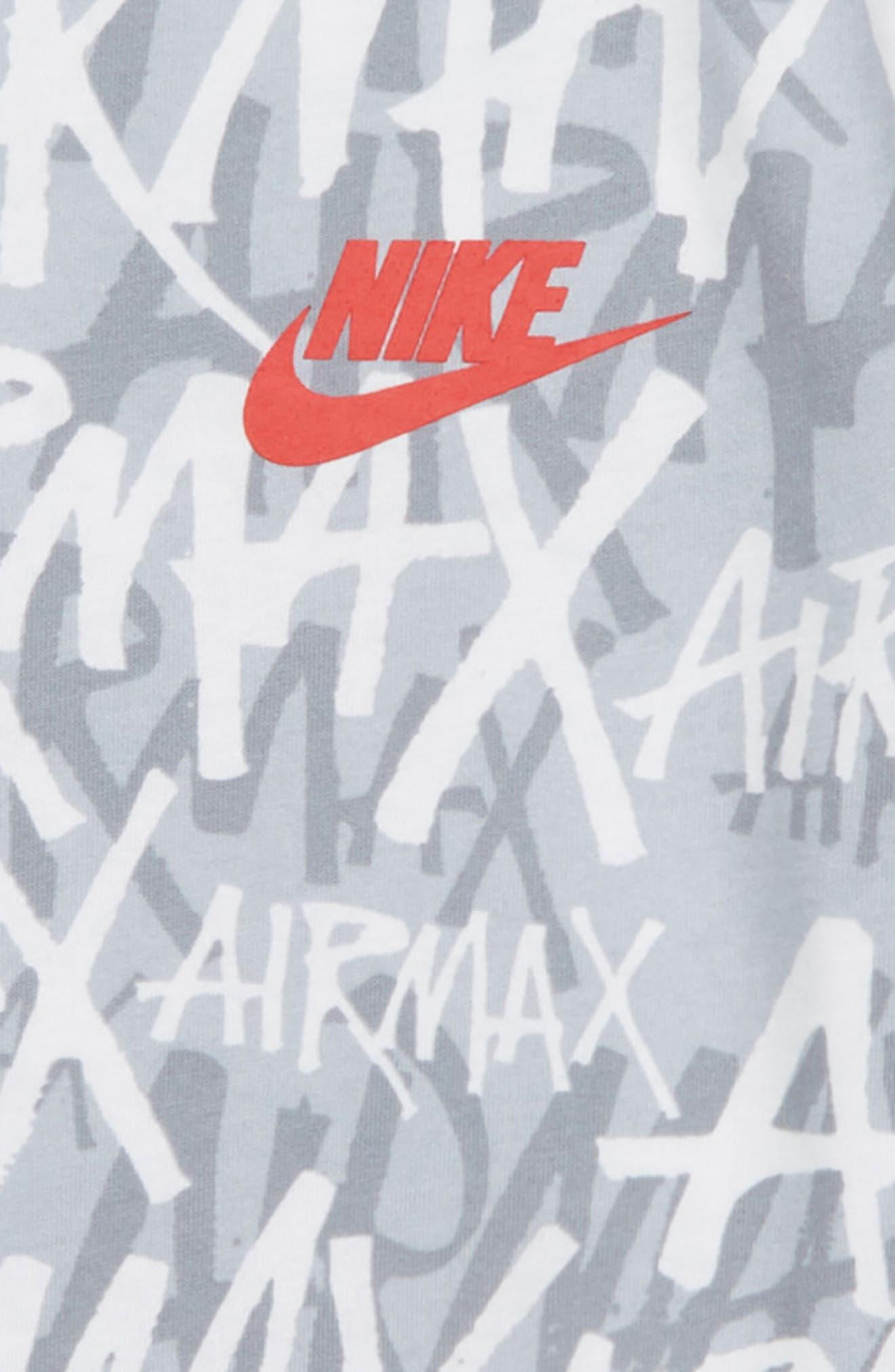 Sportswear Air Max Logo T-Shirt,                             Alternate thumbnail 2, color,                             WHITE/ UNIVERSITY RED