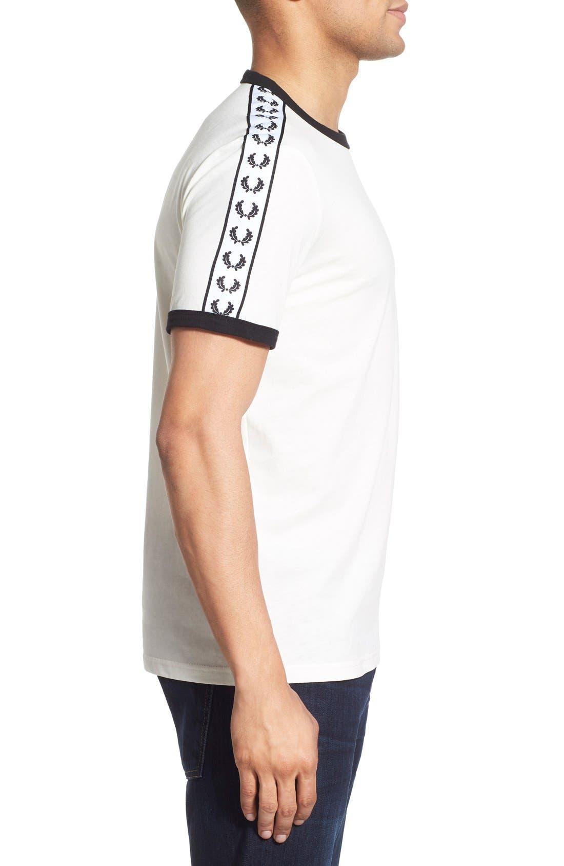 Extra Trim Fit Cotton Ringer T-Shirt,                             Alternate thumbnail 19, color,