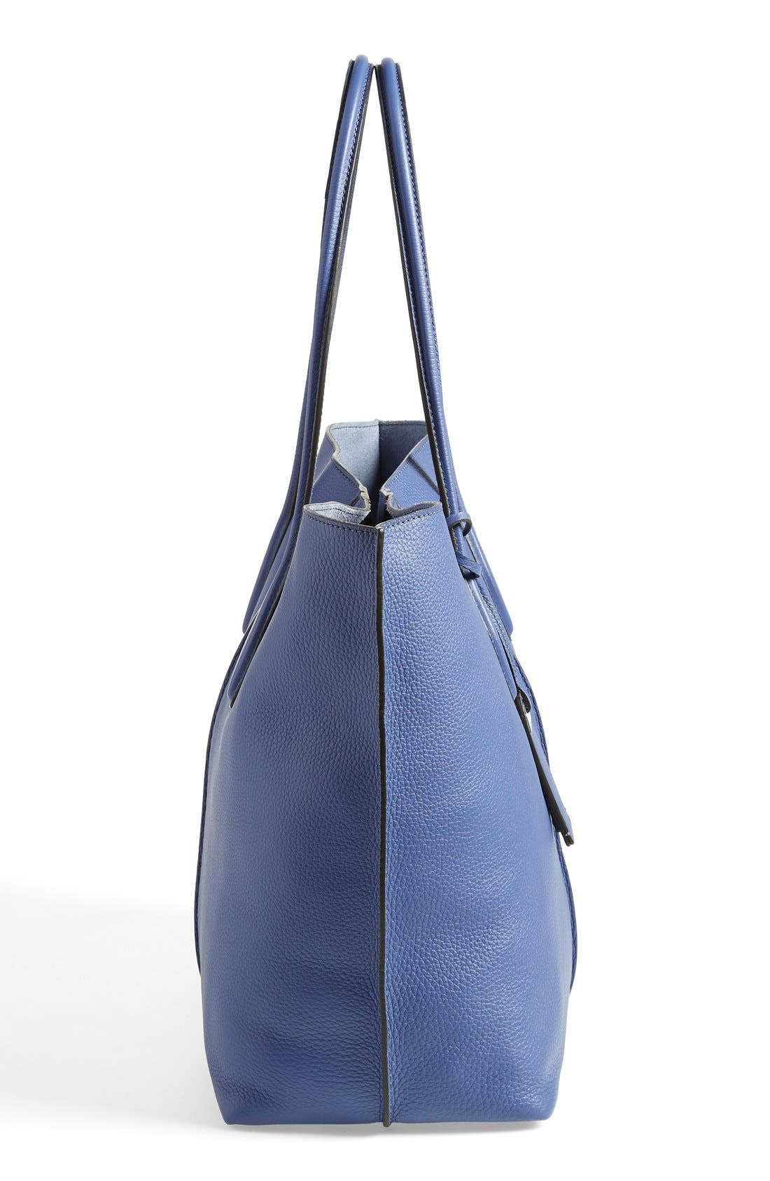 'Large Joy' Leather Tote,                             Alternate thumbnail 2, color,                             400