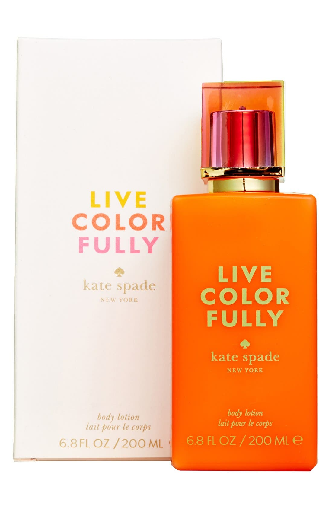 KATE SPADE NEW YORK,                             'live colorfully' body lotion,                             Alternate thumbnail 2, color,                             000