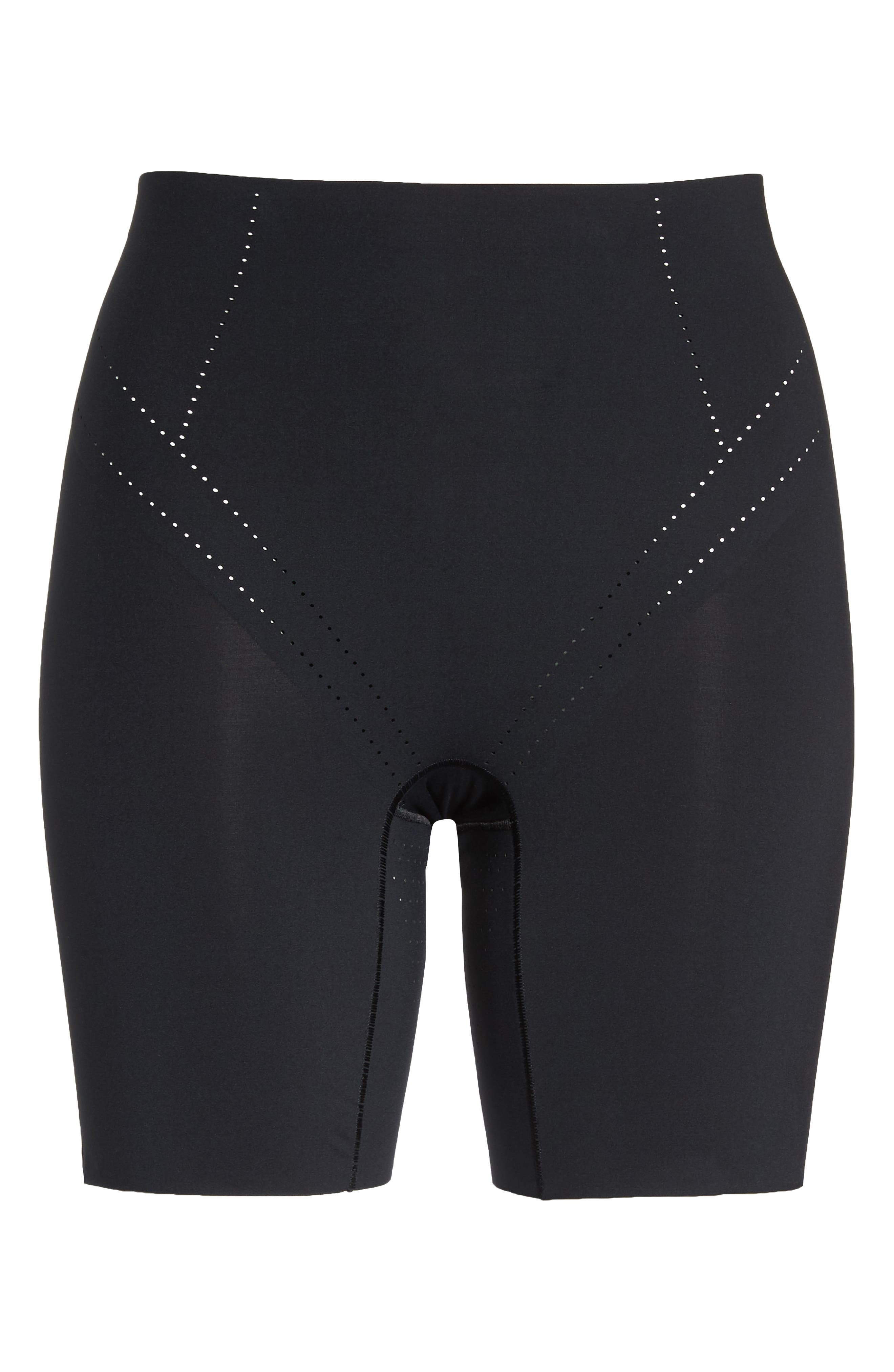 Shape Air Shaper Shorts,                             Alternate thumbnail 6, color,                             BLACK