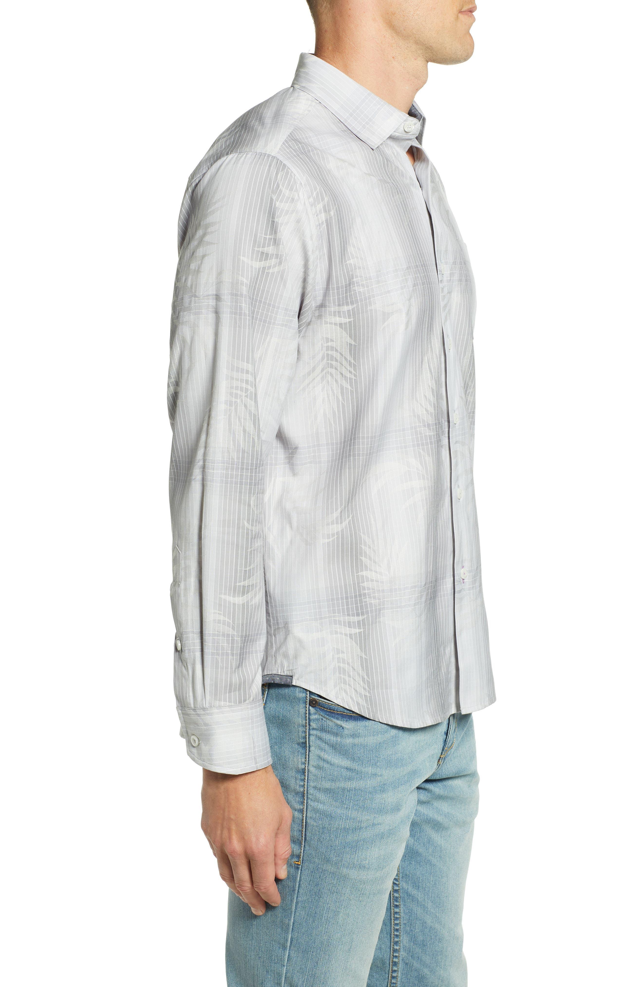 Primo Palms Regular Fit Plaid Sport Shirt,                             Alternate thumbnail 3, color,                             MICRO CHIP