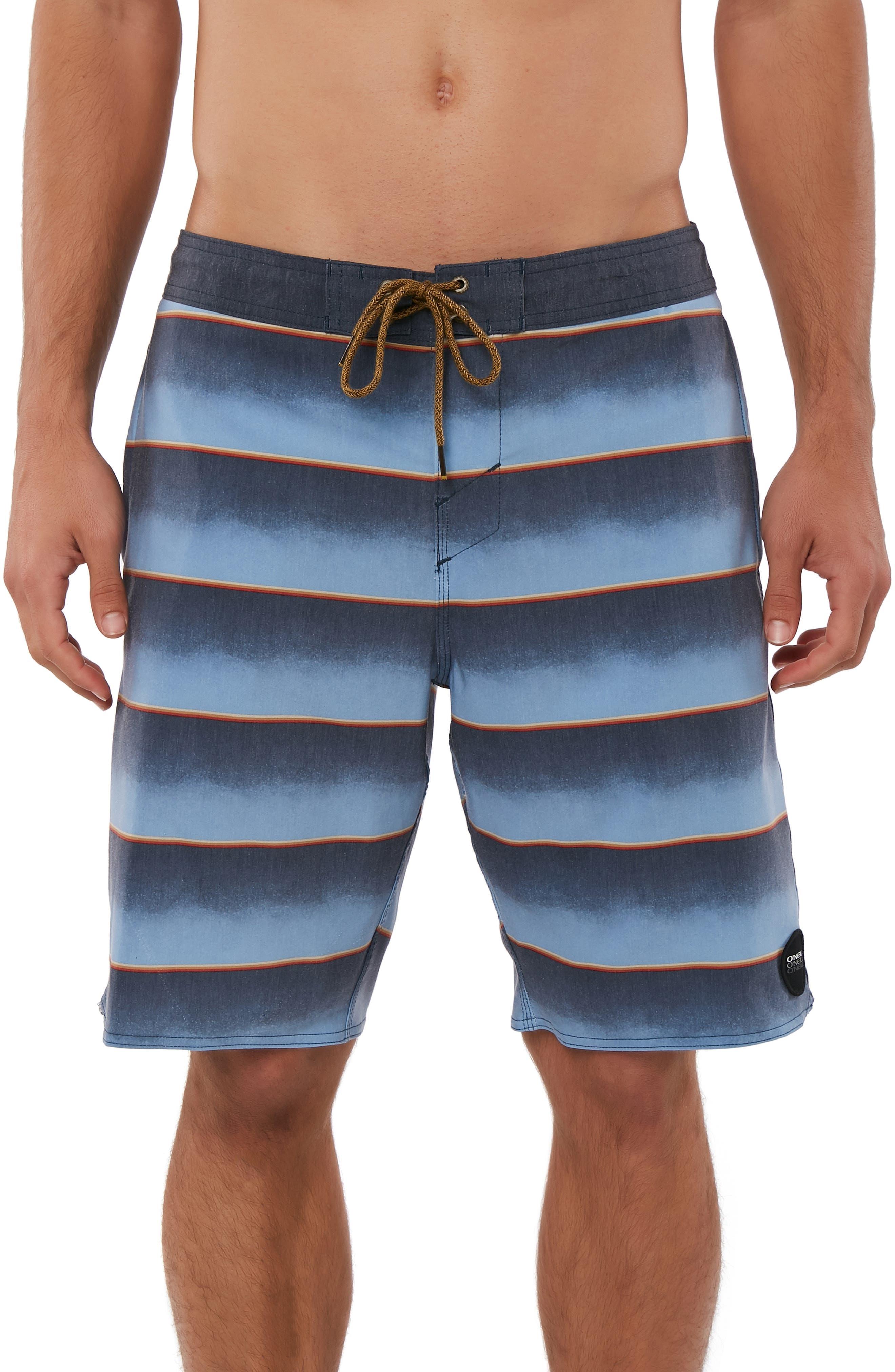 Tidelines Cruzer Board Shorts,                         Main,                         color, NAVY