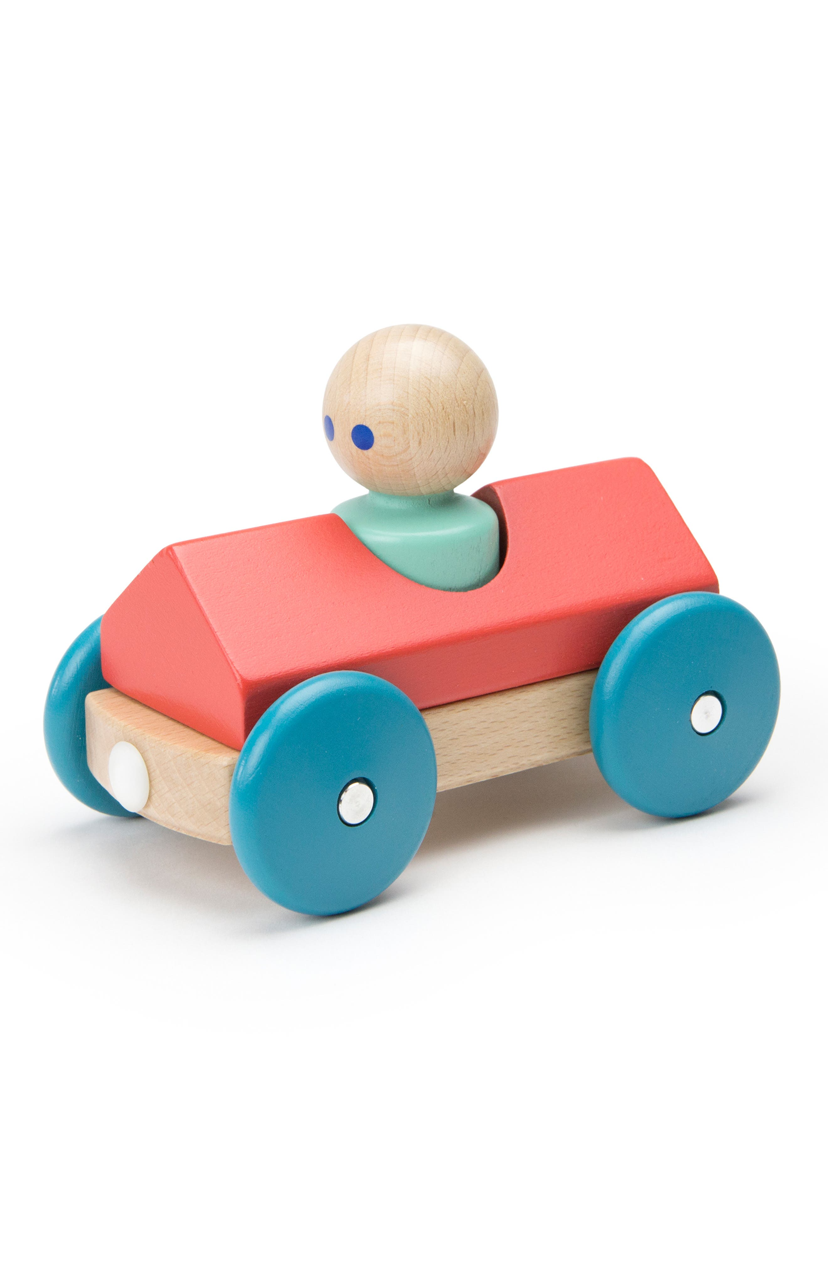 Barn Magnetic Racer Toy,                             Main thumbnail 1, color,                             RAINBOW