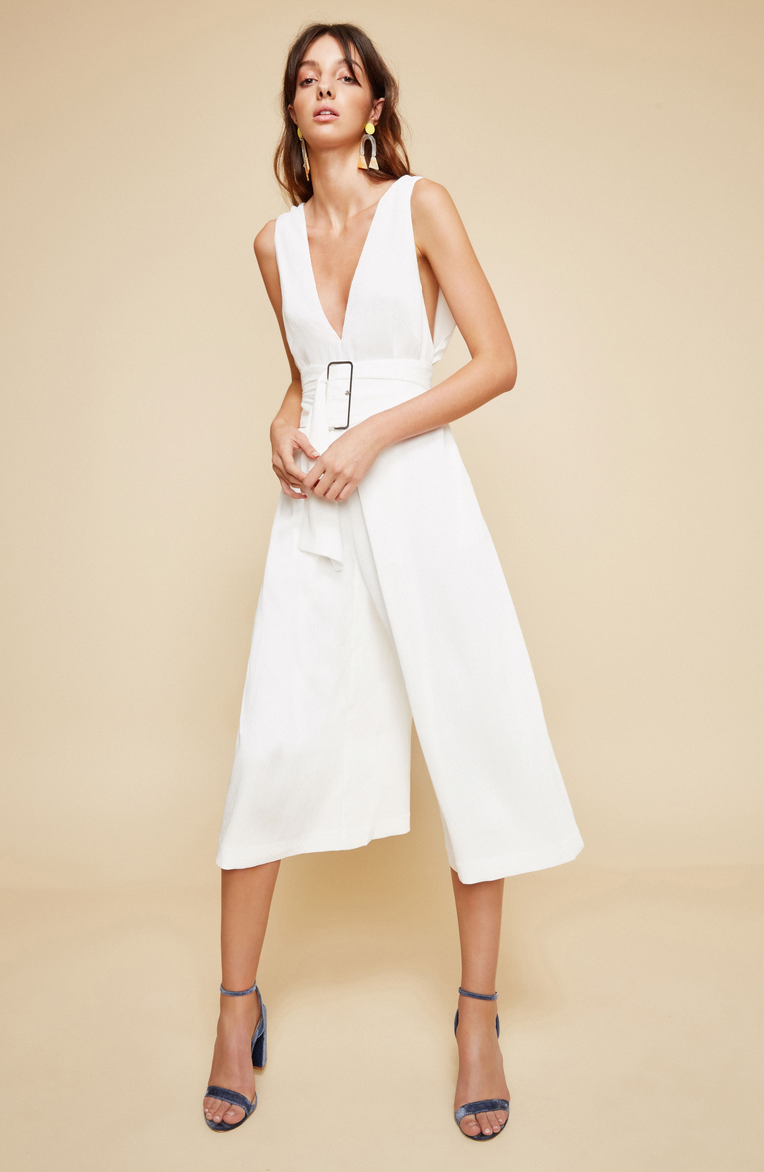 Dream Cloud Crop Jumpsuit,                             Alternate thumbnail 8, color,                             900