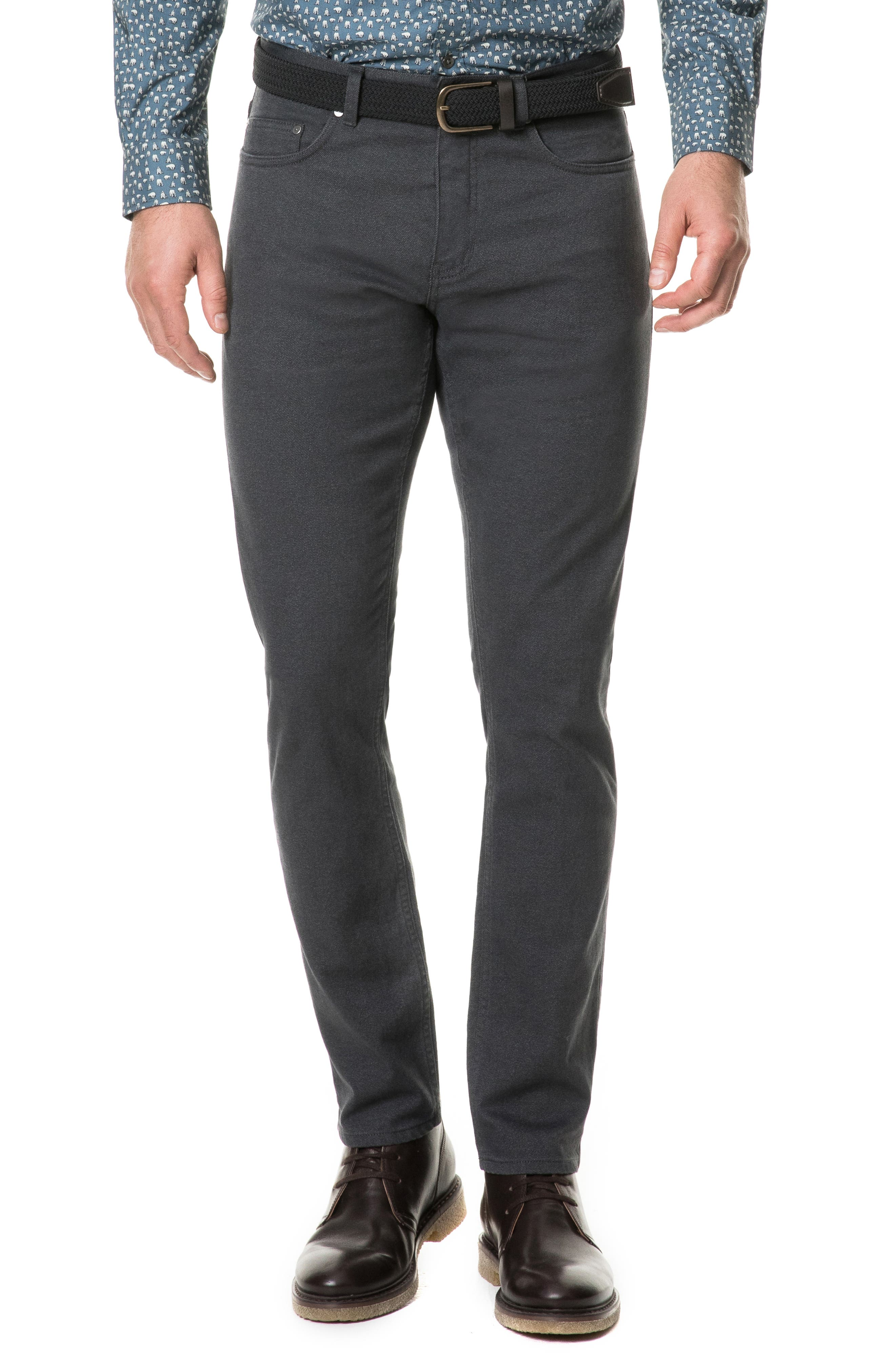 Adams Straight Leg Jeans,                         Main,                         color, SLATE