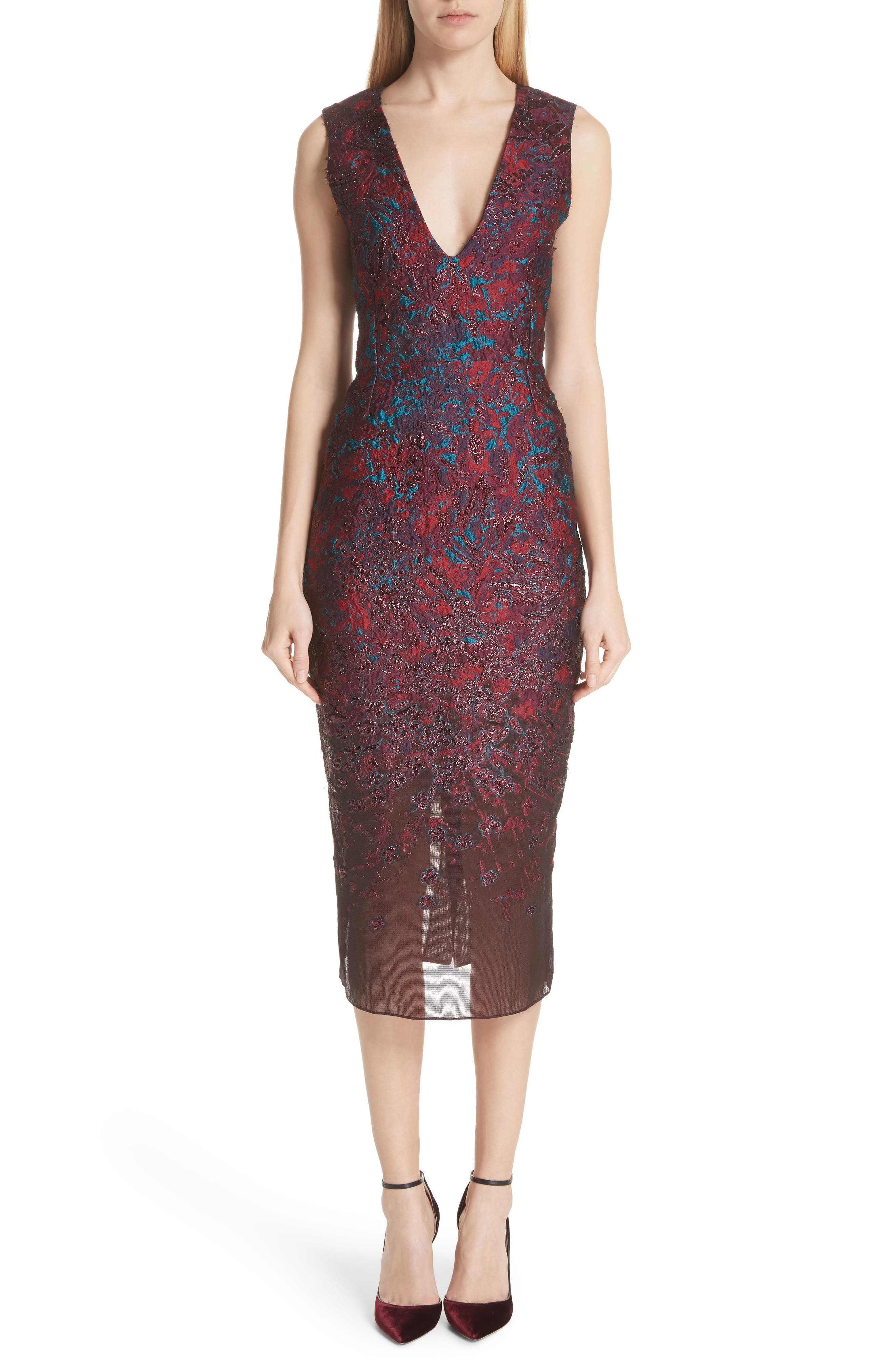 MALENE ODDERSHEDE BACH May Cocktail Dress, Main, color, 600
