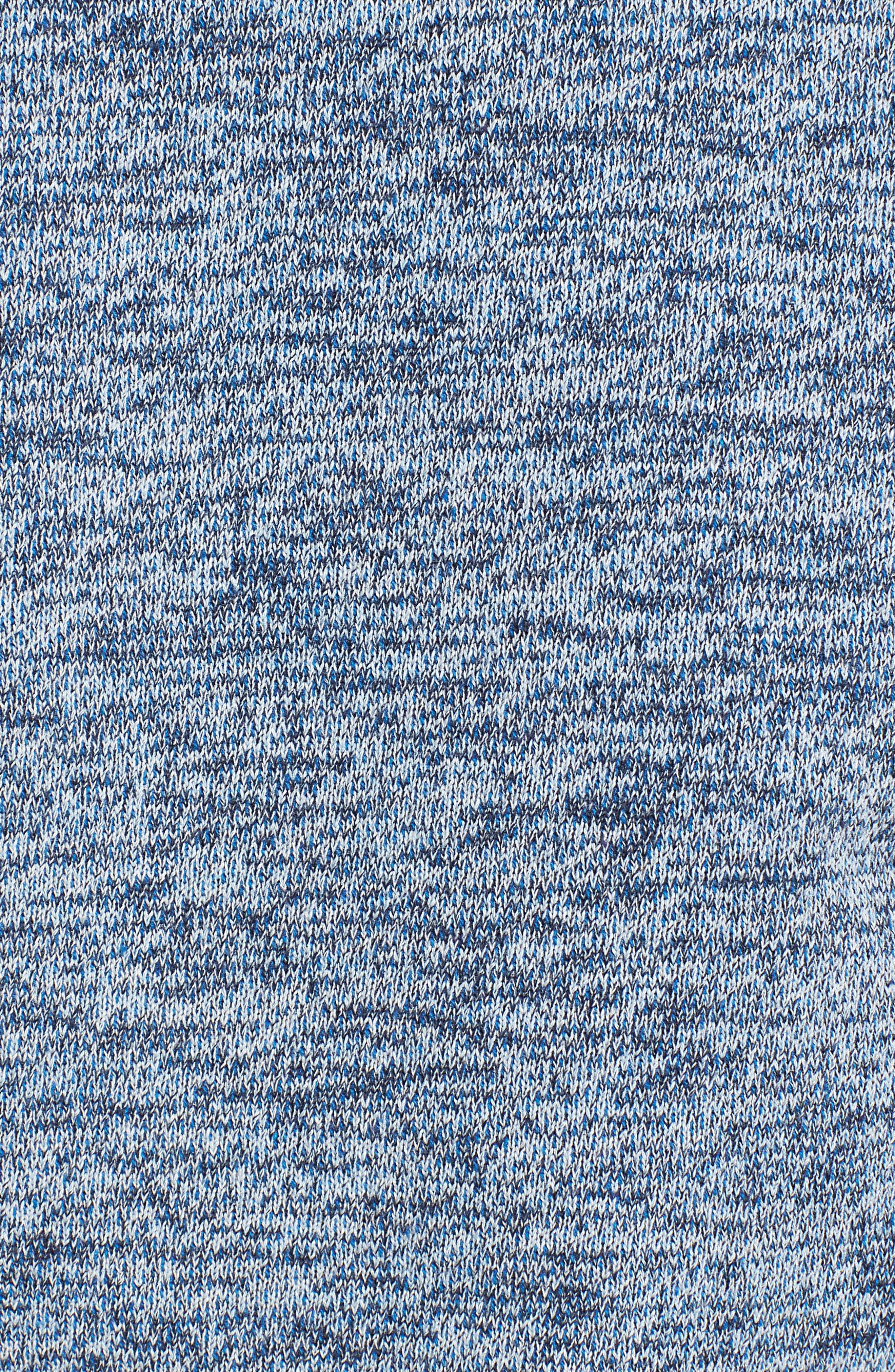 Mélange Sweatshirt,                             Alternate thumbnail 5, color,