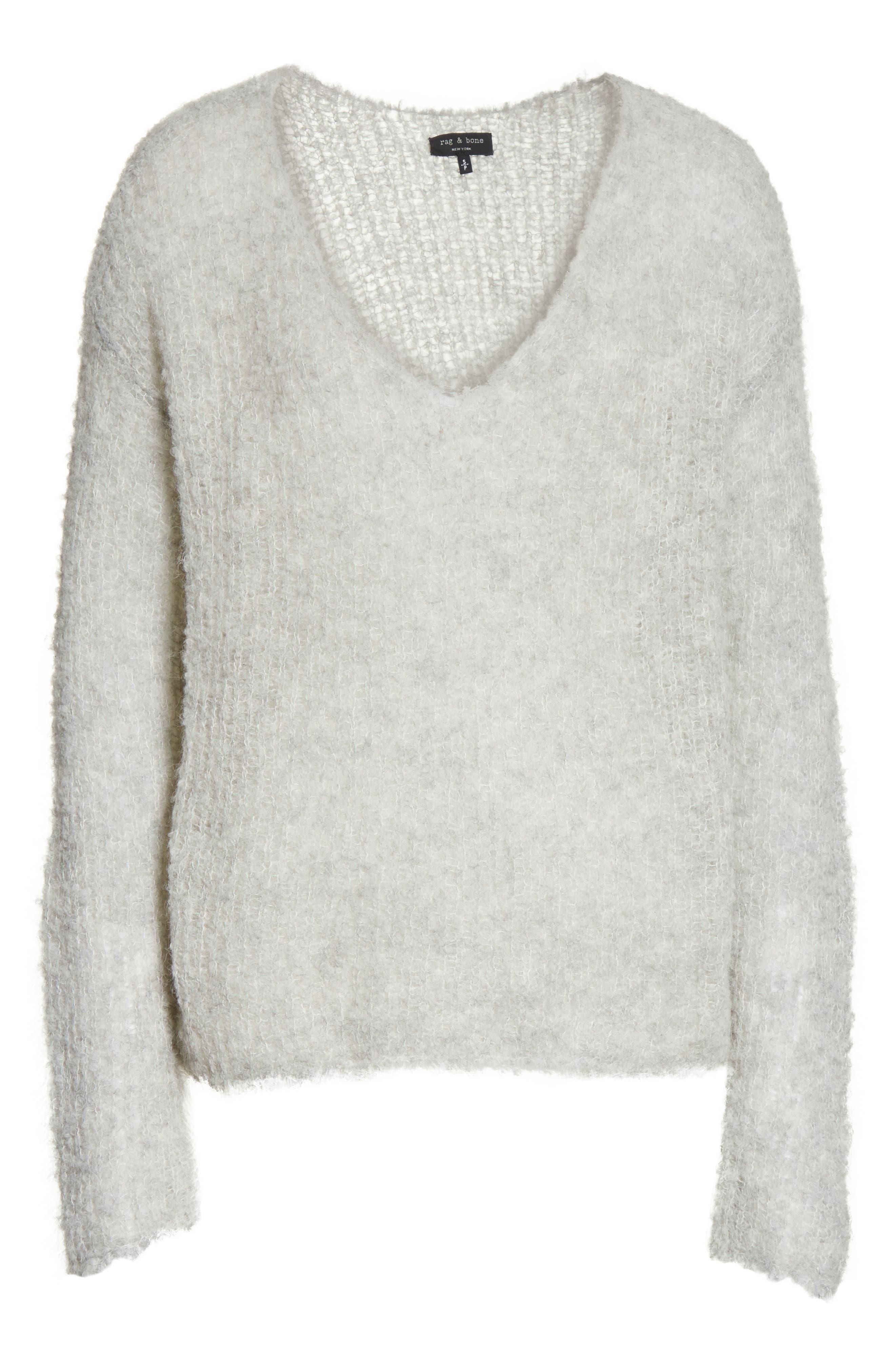 Freda Alpaca Blend Sweater,                             Alternate thumbnail 12, color,