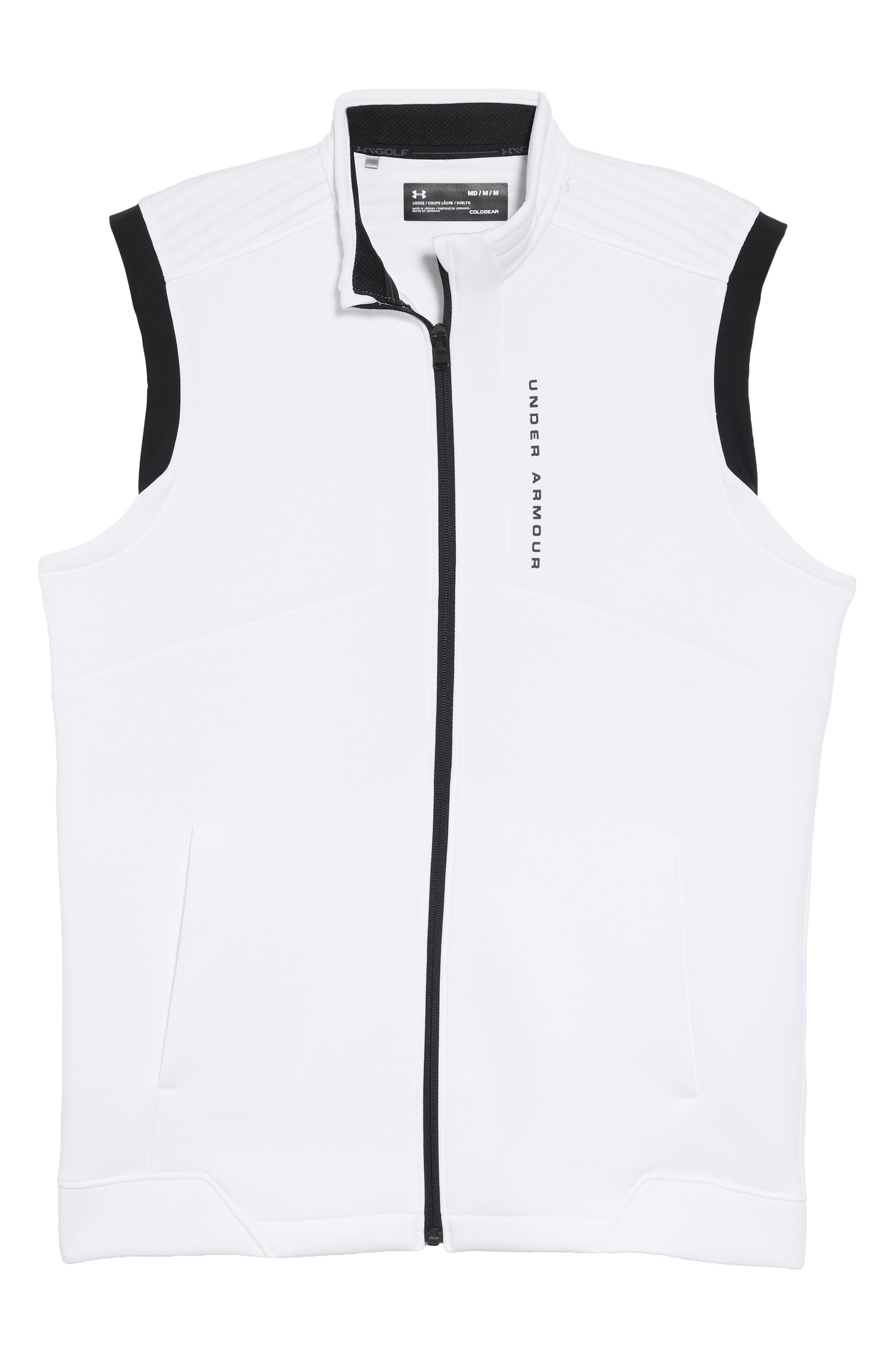 Storm Daytona Vest,                             Alternate thumbnail 5, color,                             WHITE/ BLACK/ BLACK