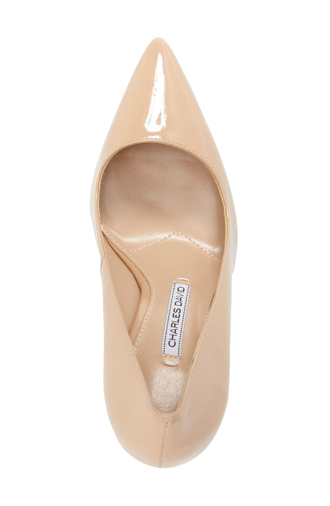 'Caterina' Pointy Toe Pump,                             Alternate thumbnail 15, color,