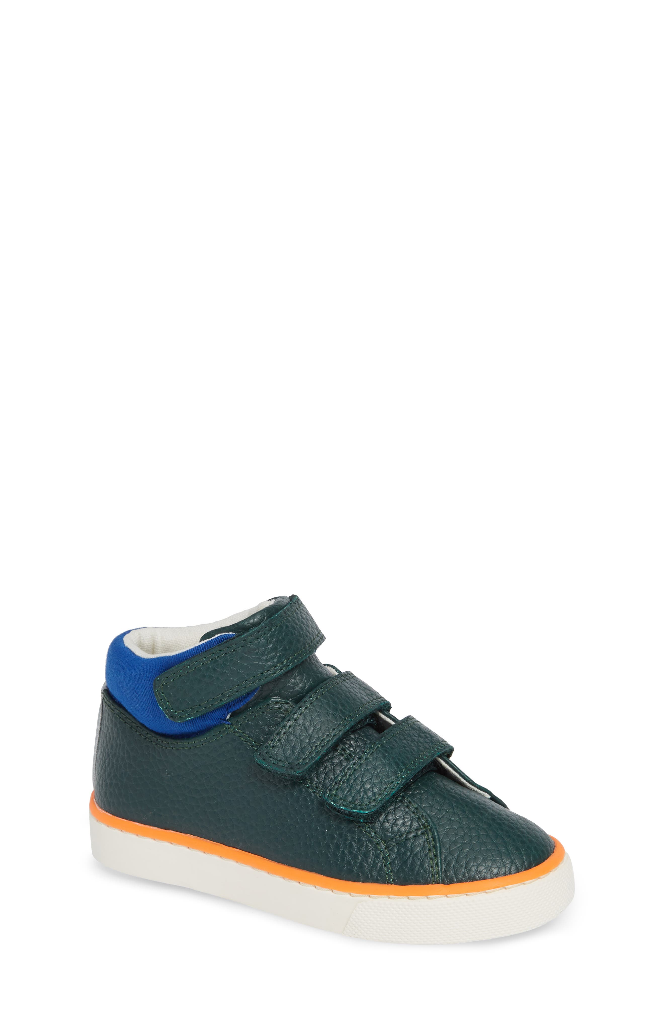 High Top Sneaker,                             Main thumbnail 1, color,                             SCOTTS PINE GREEN