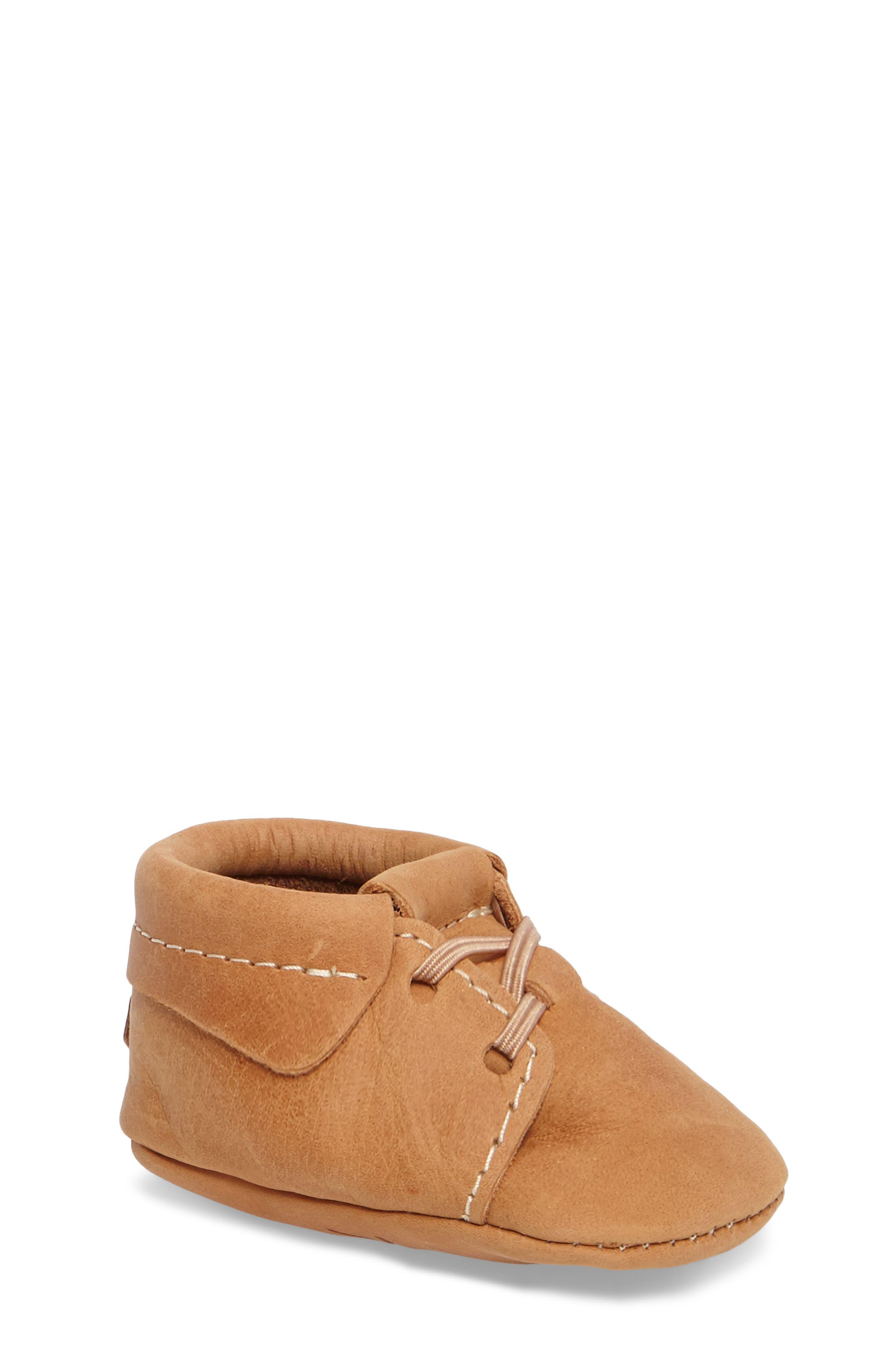 Infant Boys Freshly Picked Oxford Crib Shoe Size 4 M  Brown